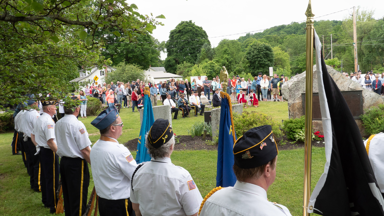 Rosendale Memorial Day tribute