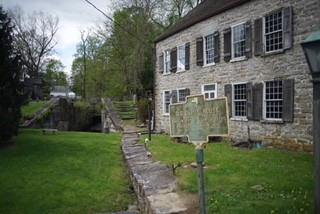 "The ""Canal House"" in High Falls"