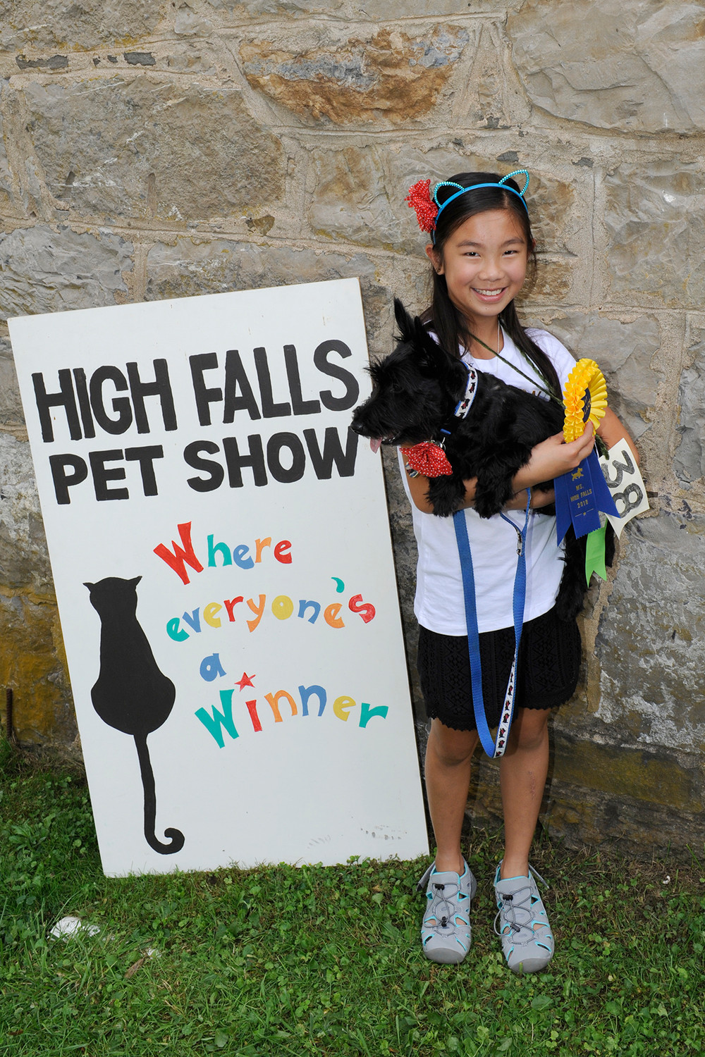 After two rain outs in the spring, the 30th Annual High Falls Pet Show finally had good weather for the event. This year's organizer, Yvette Lee, assures all it will be back in the spring of 2019!