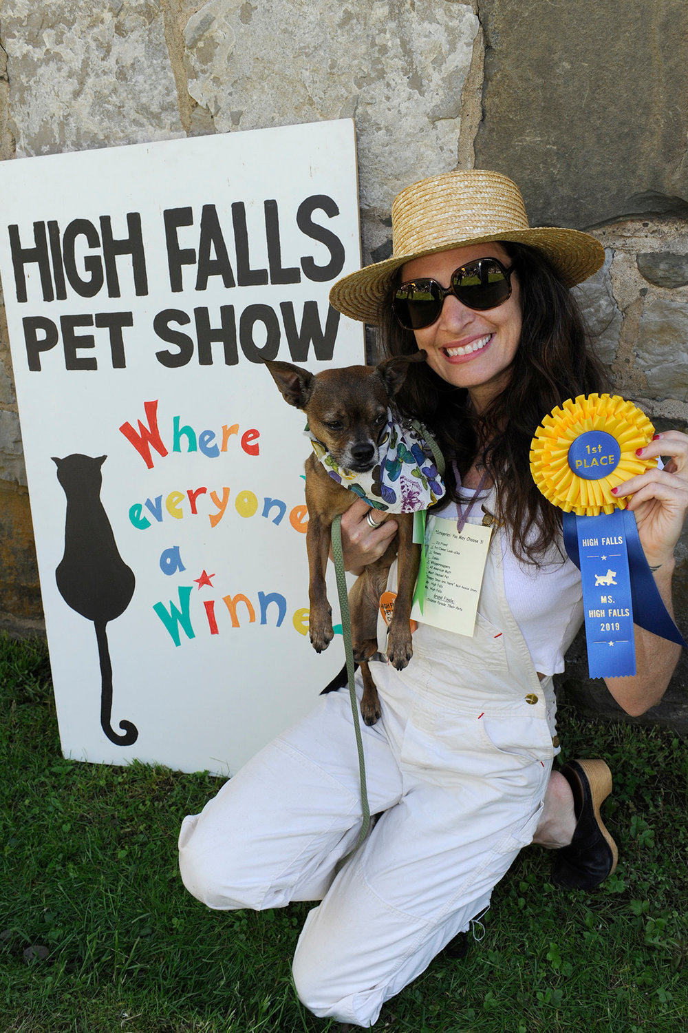 High Falls Pets Show Ms. High Falls winner!