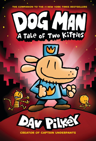 "Author Dav Pilkey's newest book, ""Dog Man: A Tale of Two Kitties,"" was released at the end of August. Pilkey will be in the area for a presentation on Sept. 24."