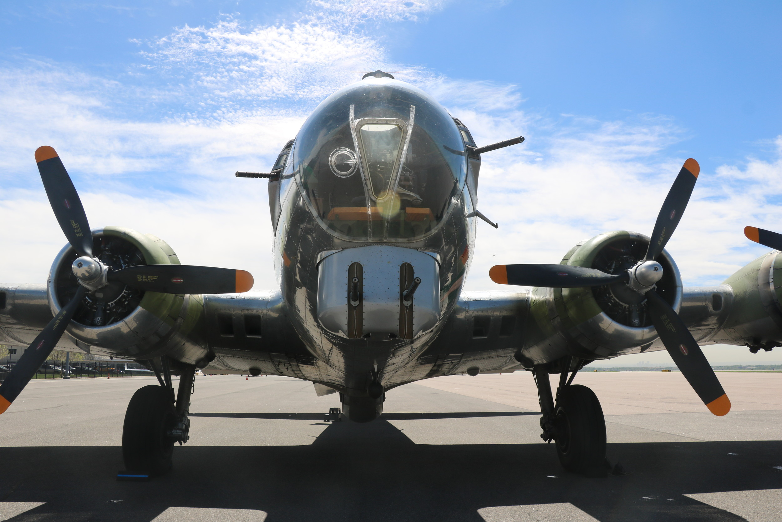 The Liberty Foundation brought its B-17 bomber, the Madras Maiden, to the Rocky Mountain Metro Airport for tours and rides May 20 and 21.