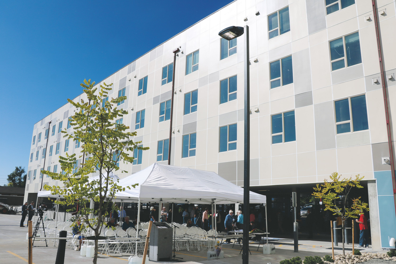 Archway Housing and Services' 40 West Residences, located at 5830 W. Colfax Ave., celebrated its opening on Oct. 5, and is an affordable housing project in an area that has mainly seen market rate or luxury apartments be approved.
