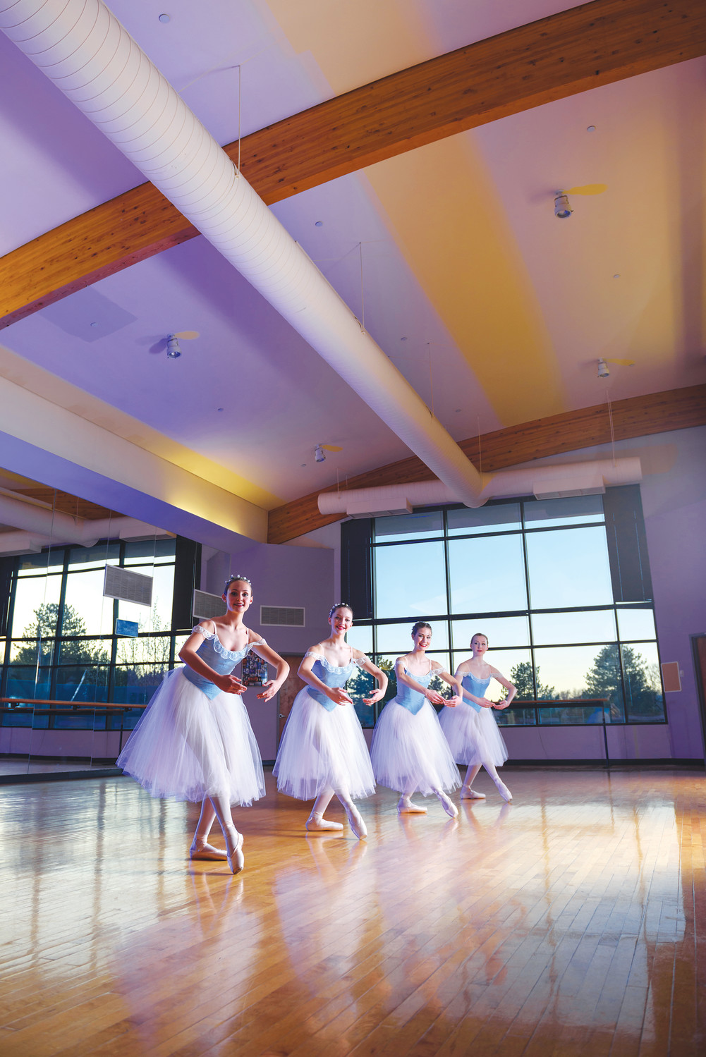 The Arvada Center for Arts and Humanities is teaming up with Regis University to offer students classes, including dance, starting in January.