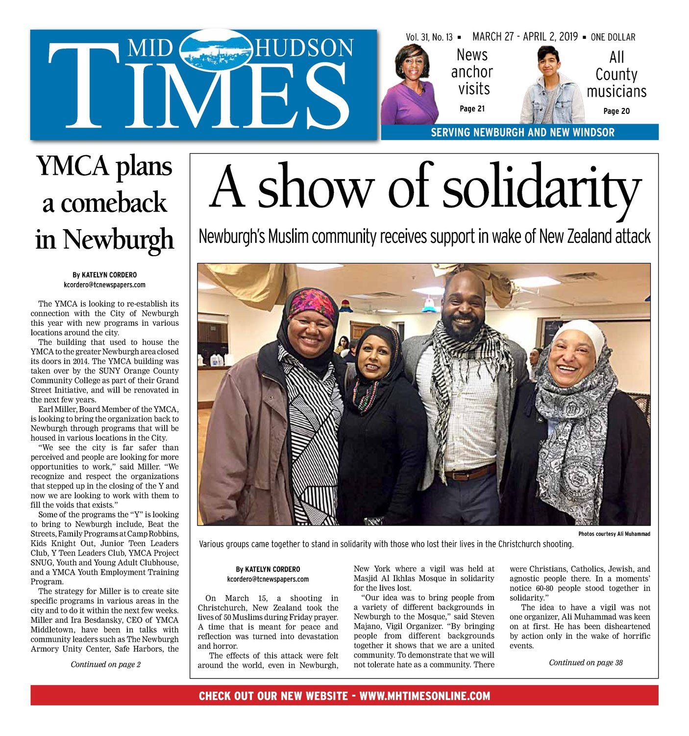 Mid Hudson Times - March 27, 2019 | Mid Hudson Times