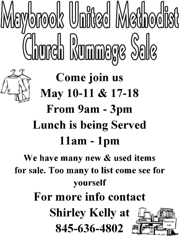 Rummage Sale | My Hudson Valley