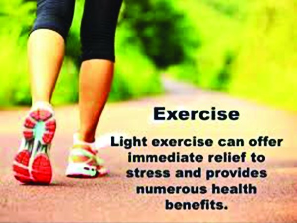 Image result for relieving stress exercising