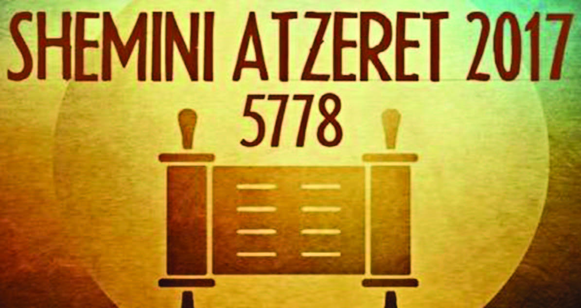 Figuring out what Shemini Atzeret is  Finally  | Jewish Alliance of