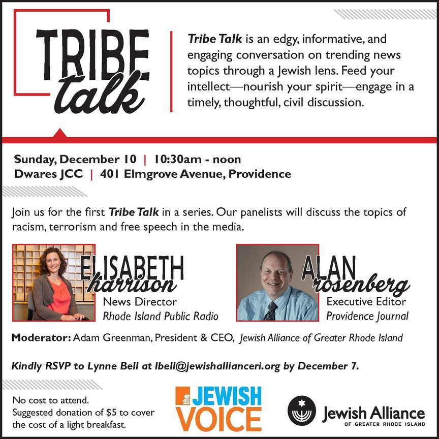Tribe Talk | The Jewish Voice