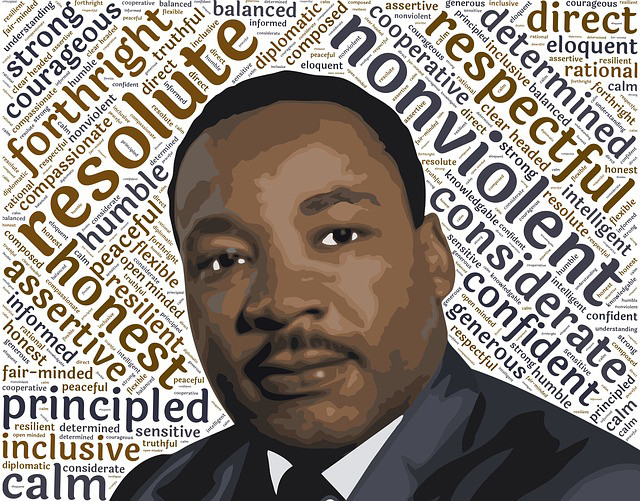 Martin Luther King Jr Day Schedule Friday Jan 18 2019 The