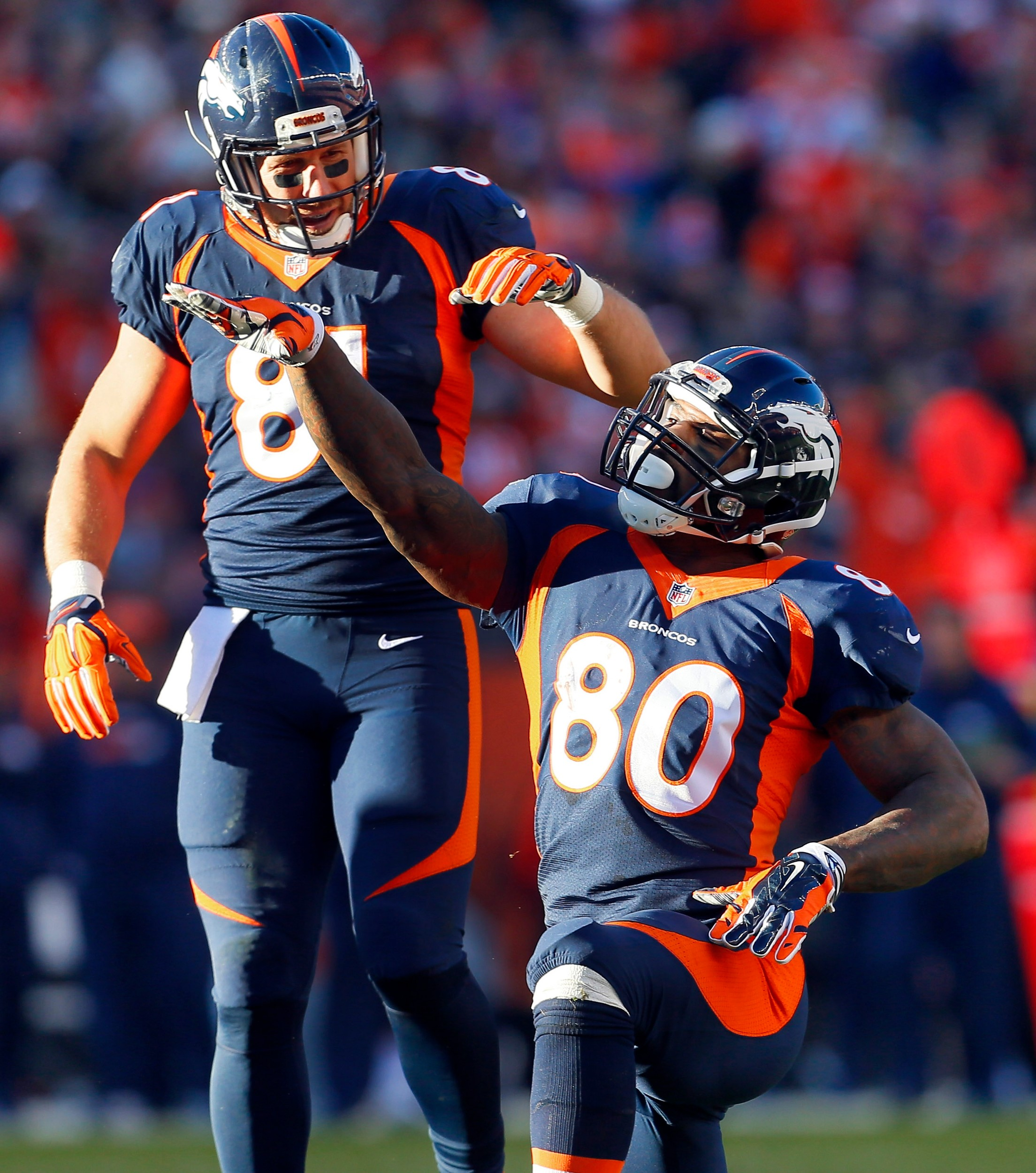 Vernon Davis hopes to play a role in Super Bowl with Broncos | The ...