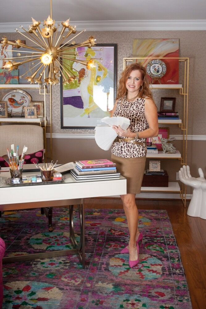 Nicole Norris is seen in her design studio.