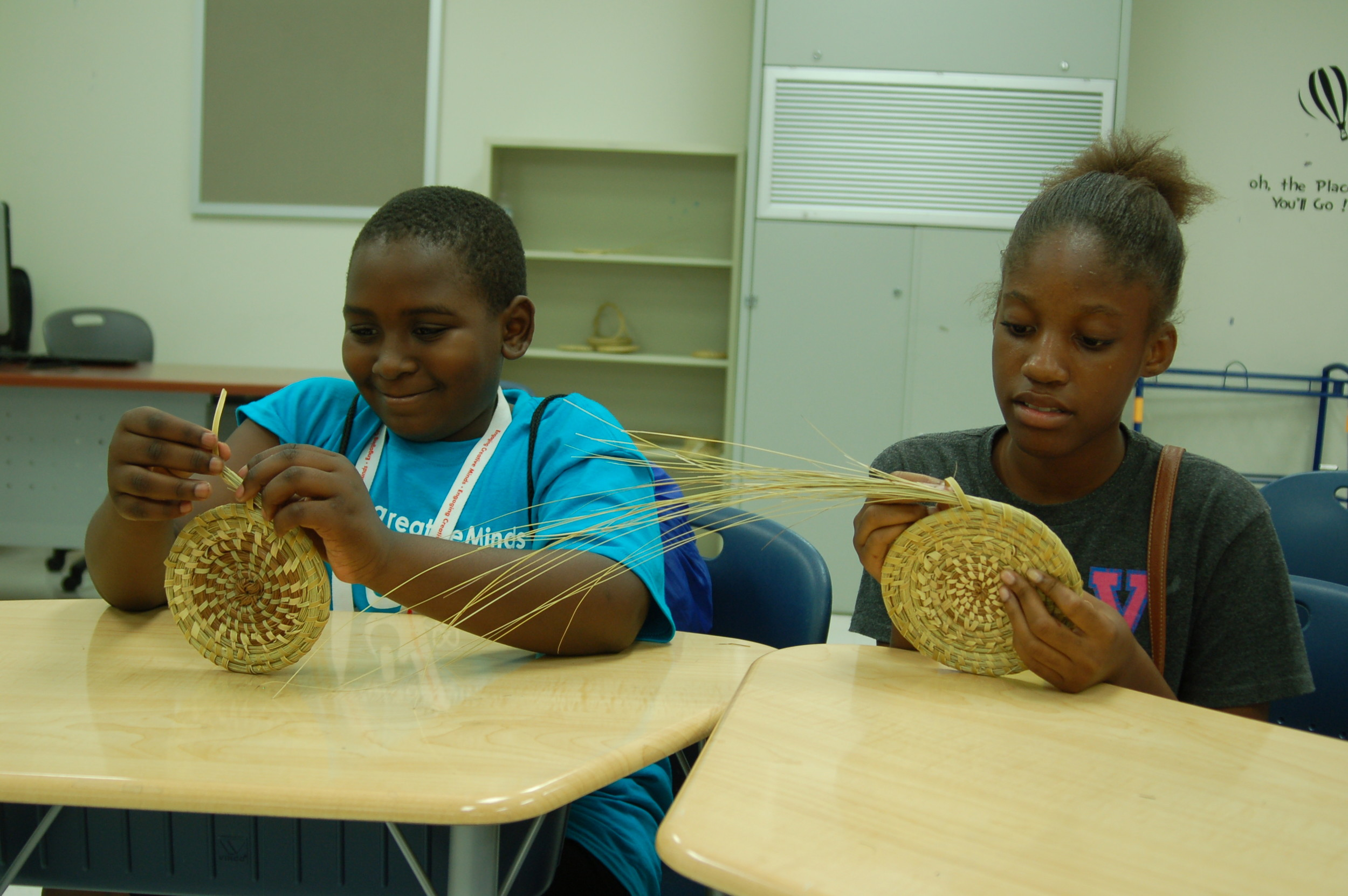 Basket Weaving For Elementary Students : Steam institute a success the sumter item