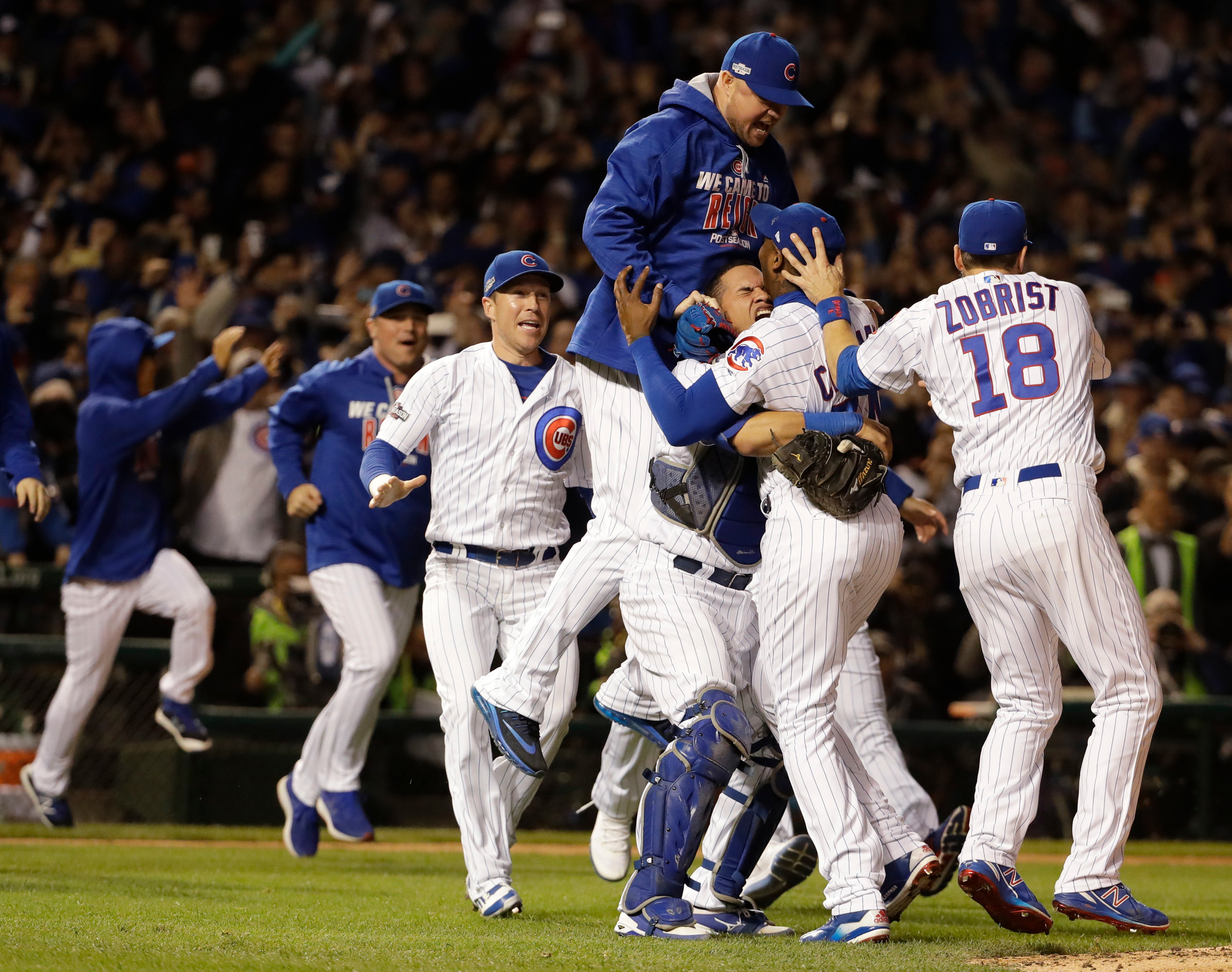 Cubs beat Dodgers 5-0 to reach World Series   The Sumter Item