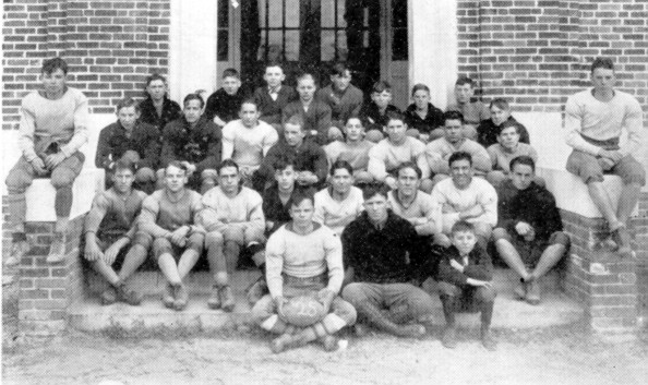 The Sumter High football team of 1925-26 is pictured in the school yearbook.