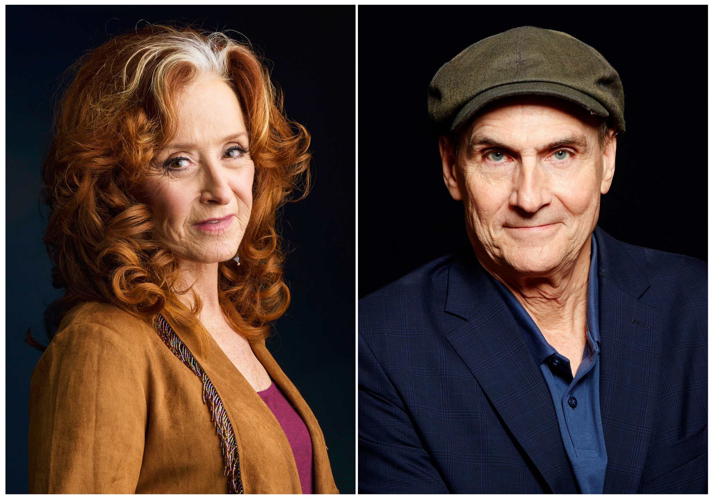 THE ASSOCIATED PRESSSinger Bonnie Raitt, left, and singer James Taylor are teaming up this summer for concerts.
