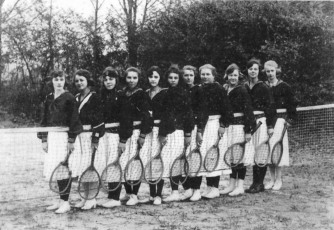 The Sumter High School girls tennis team.