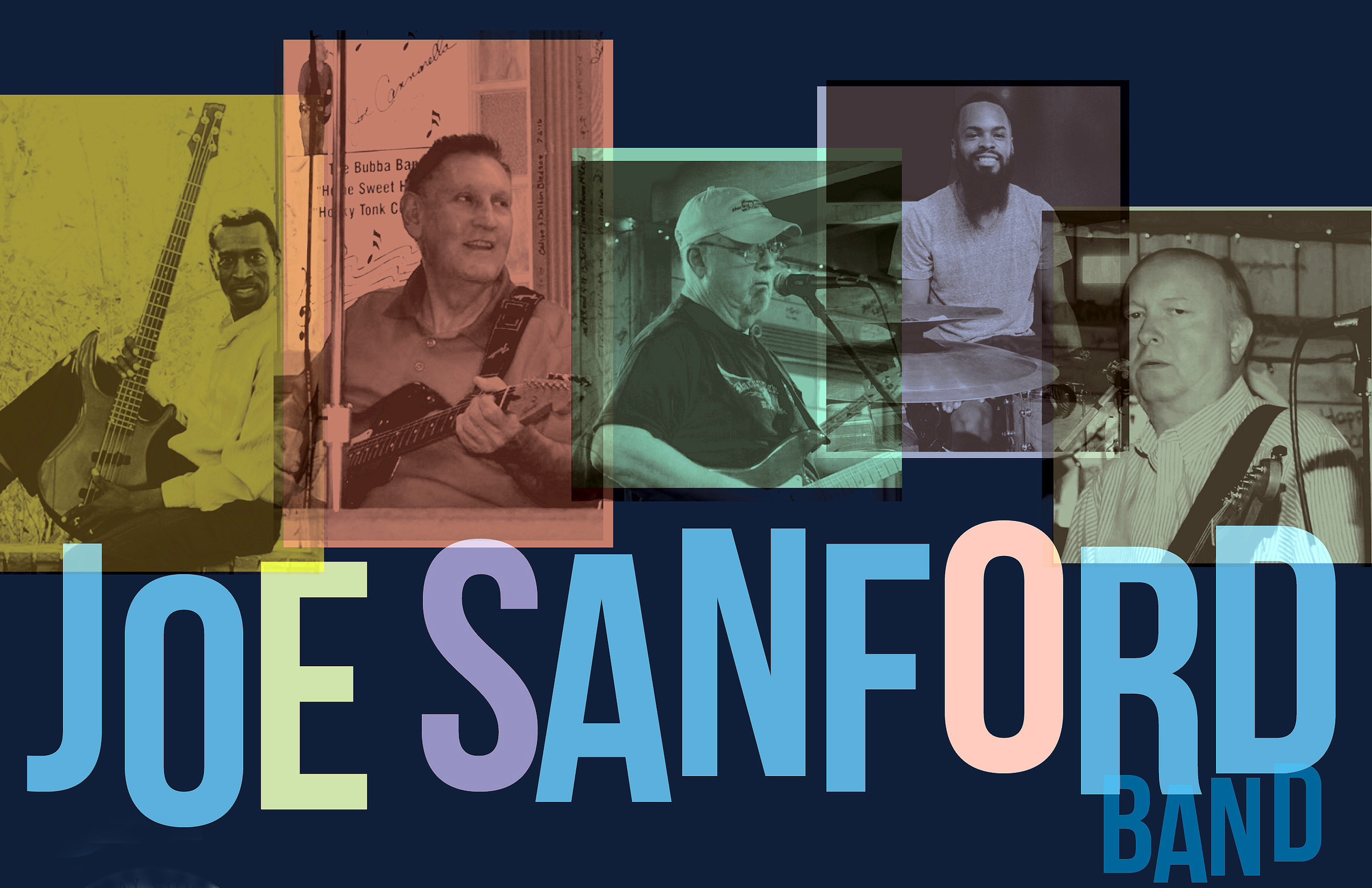 The Joe Sanford Band will play a concert of mainly blues and R&B when they take the stage on the Sumter County Courthouse lawn for Downtown Sumter's Fourth Fridays concert on July 28.