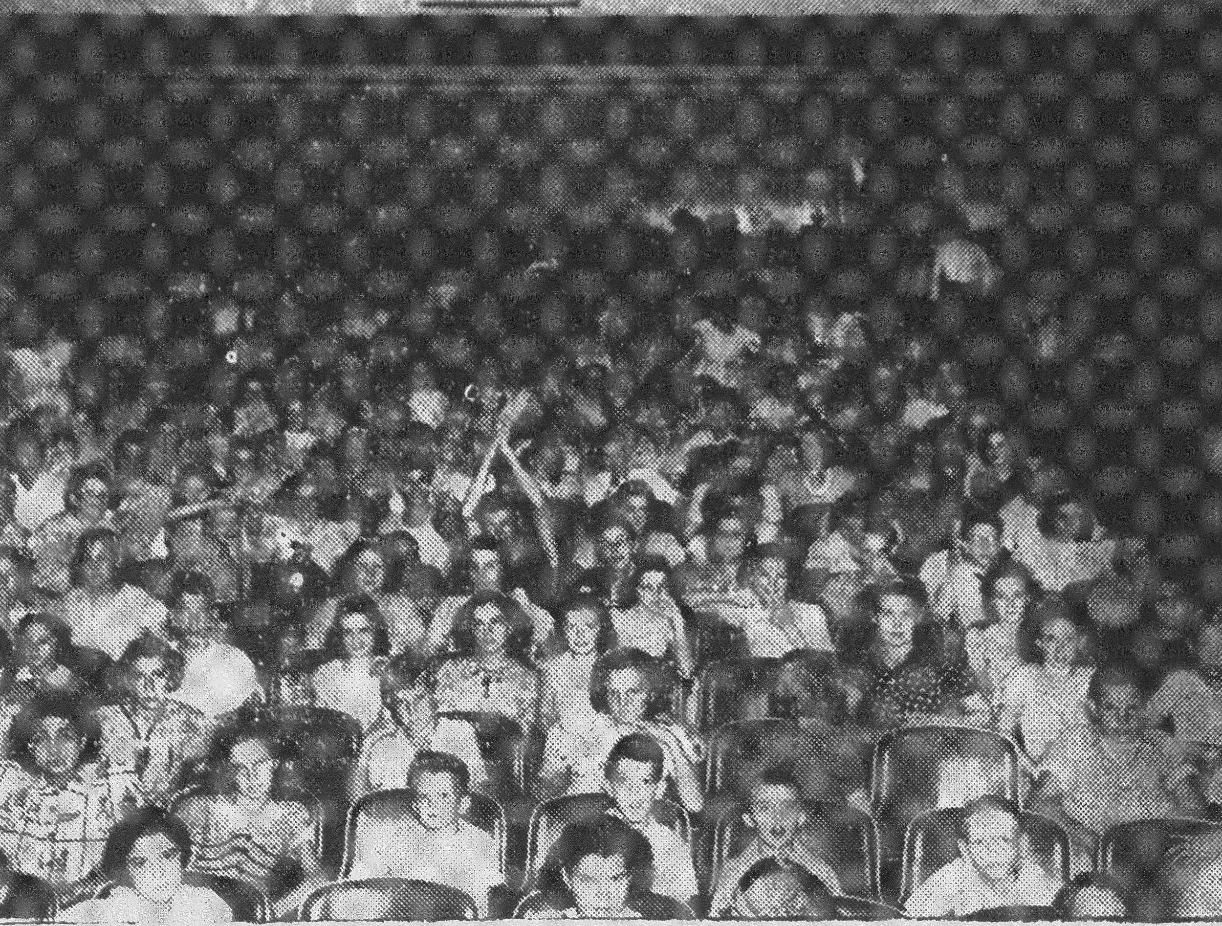 In 1938, a capacity crowd jammed the Sumter Theatre as guests of Sumter merchants who sponsored Dollar Day.