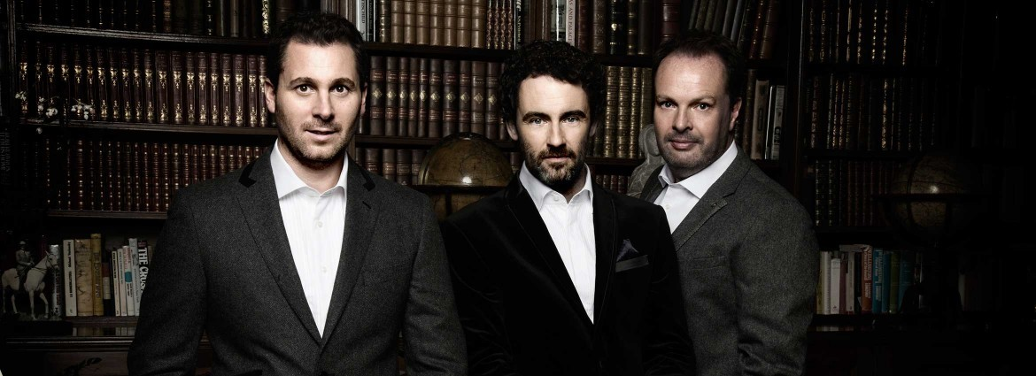 The Celtic Tenors will perform a wide range of music on Dec. 9. No doubt some of them will celebrate the Christmas season.