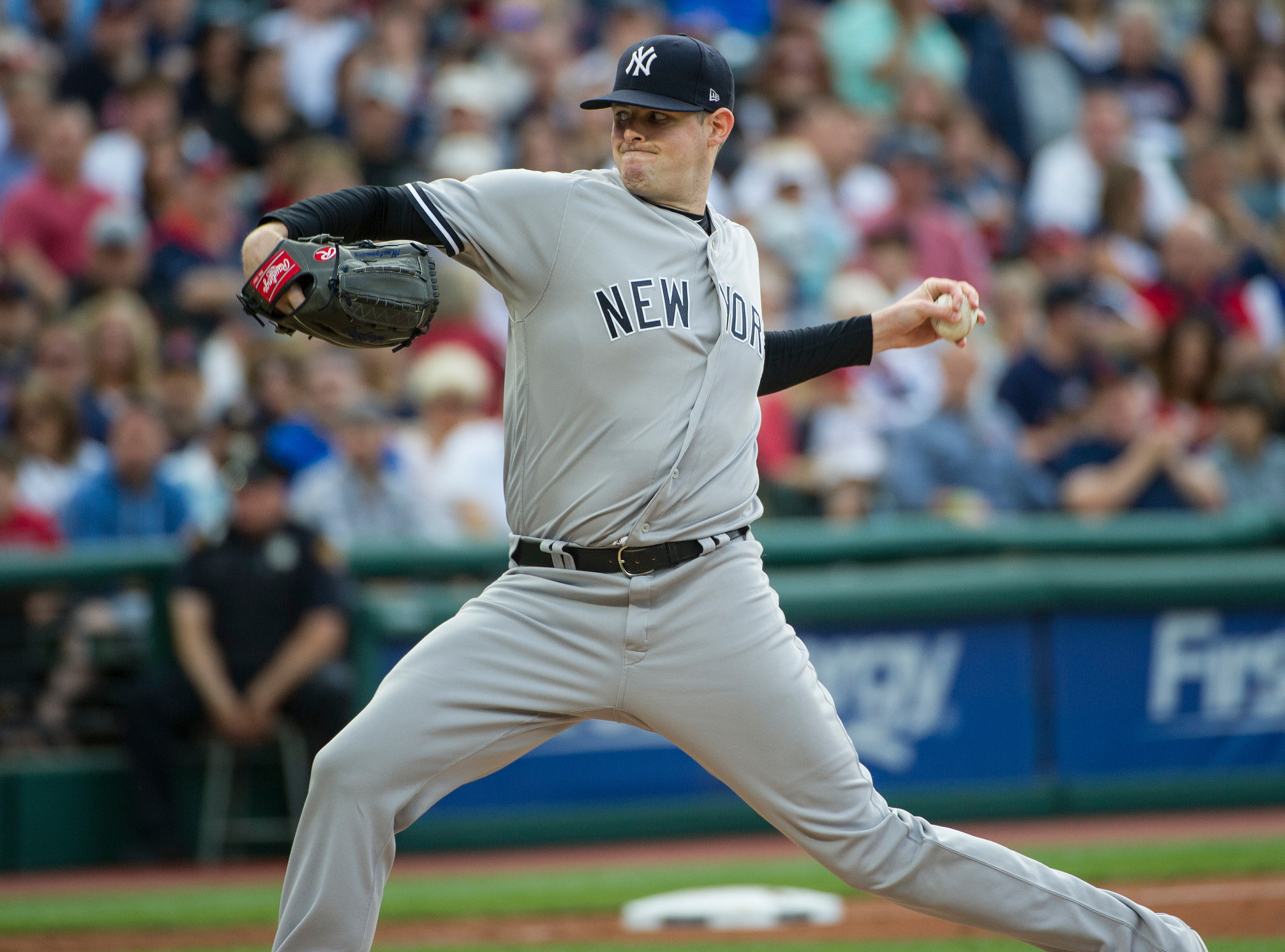 New York Yankees starting pitcher and native Sumterite Jordan Montgomery is likely to be recalled from Triple-A on Sunday and start against the Boston Red Sox after CC Sabathia exited Thursday's game against Toronto with soreness in his arthritic right knee.