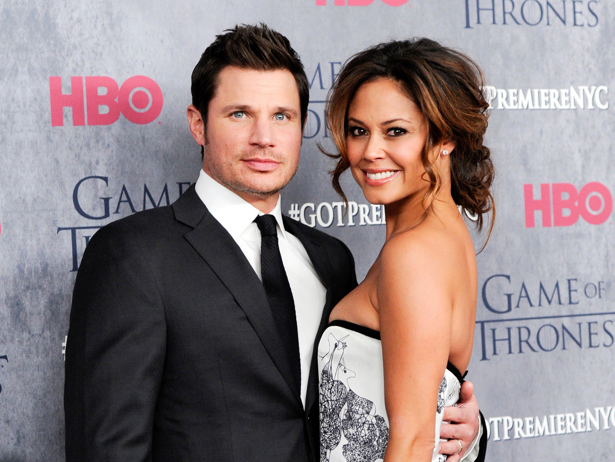 "TV personalities Nick Lachey and his wife, Vanessa Lachey, will compete on the upcoming season of ABC's ""Dancing with the Stars."""