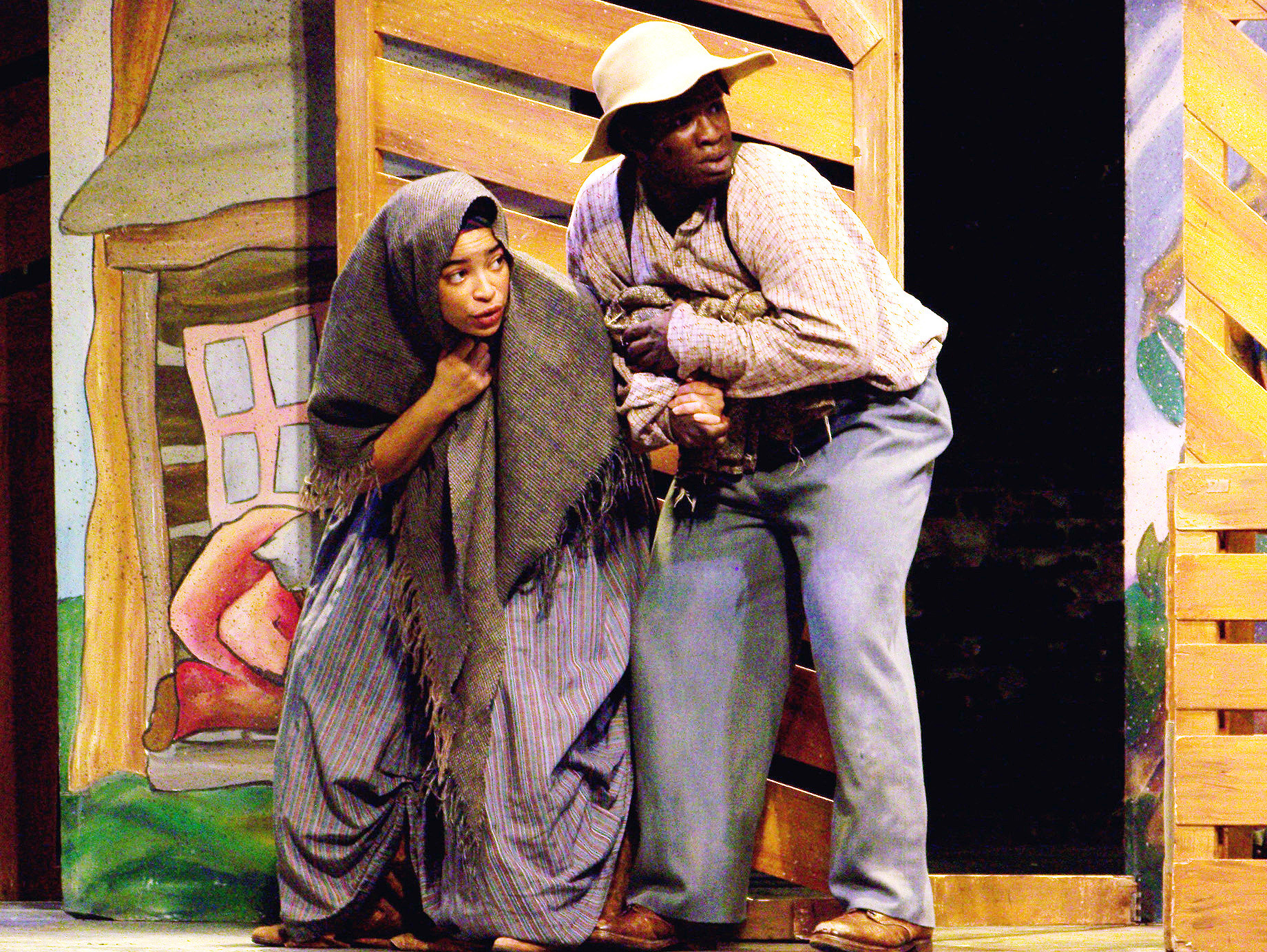 "Virginia Repertory Theatre will present ""Harriet Tubman and the Underground Railroad"" as part of the Sumter Opera House Matinee Series on Feb. 13, 2018."