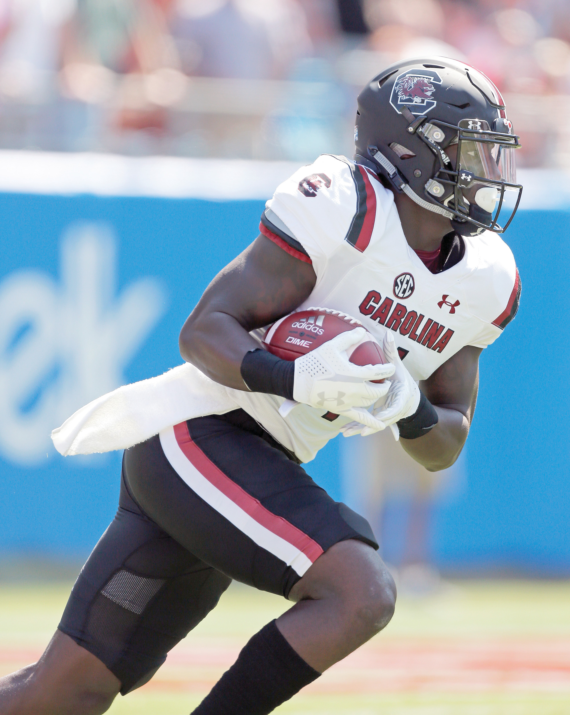 If South Carolina is going to surprise in the Southeastern Conference, it will likely be the dynamic, versatile wide receiver Deebo Samuel who'll make it happen. Samuel has already returned two kickoffs for touchdowns in the Gamecocks' first two games.