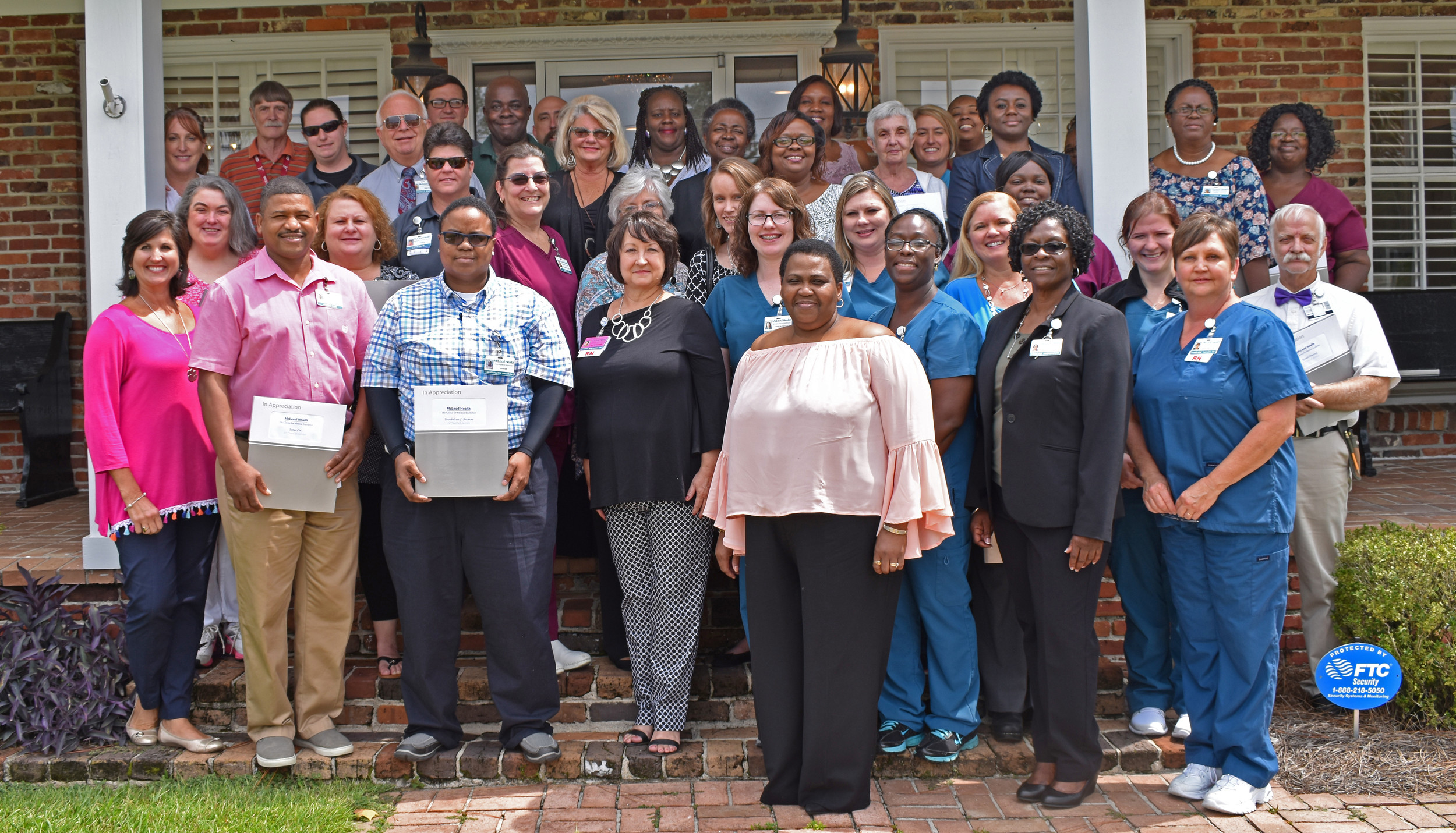 McLeod Health Clarendon honored more than 70 employees for their years of service at an awards luncheon on Sept. 6.