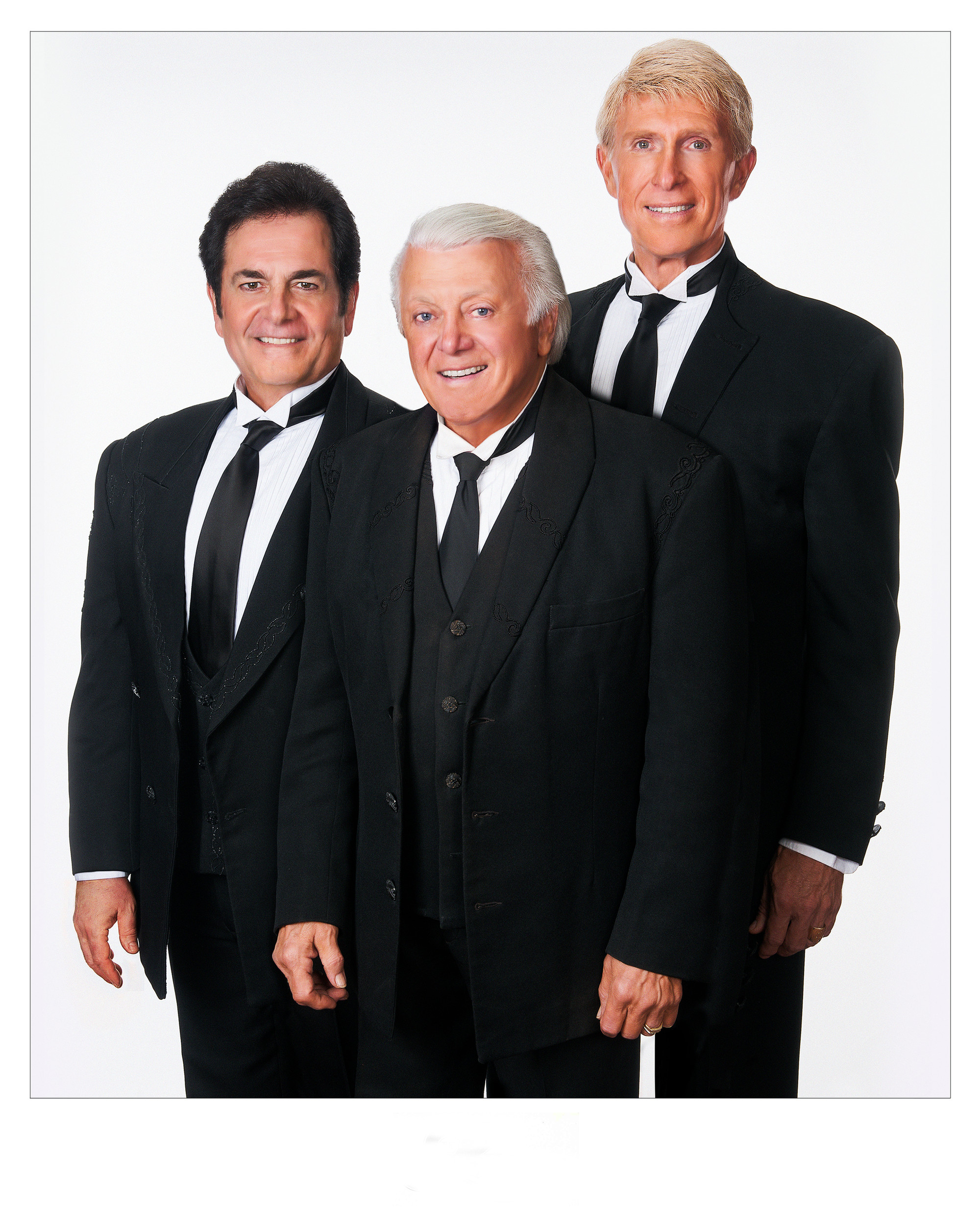 The Lettermen bring their love songs in three-part harmony to Sumter Opera House's Main Stage Series on Jan. 14, 2018.