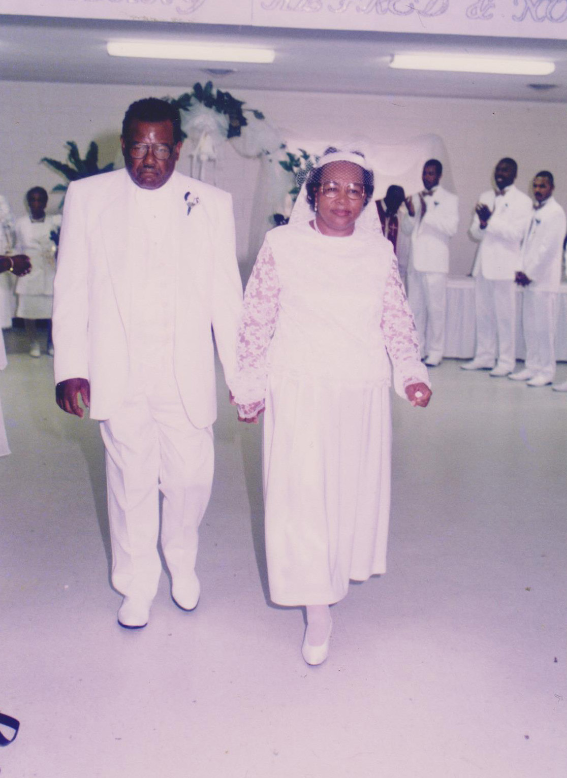 MR., MRS. ALFRED WILLIAMS SR.