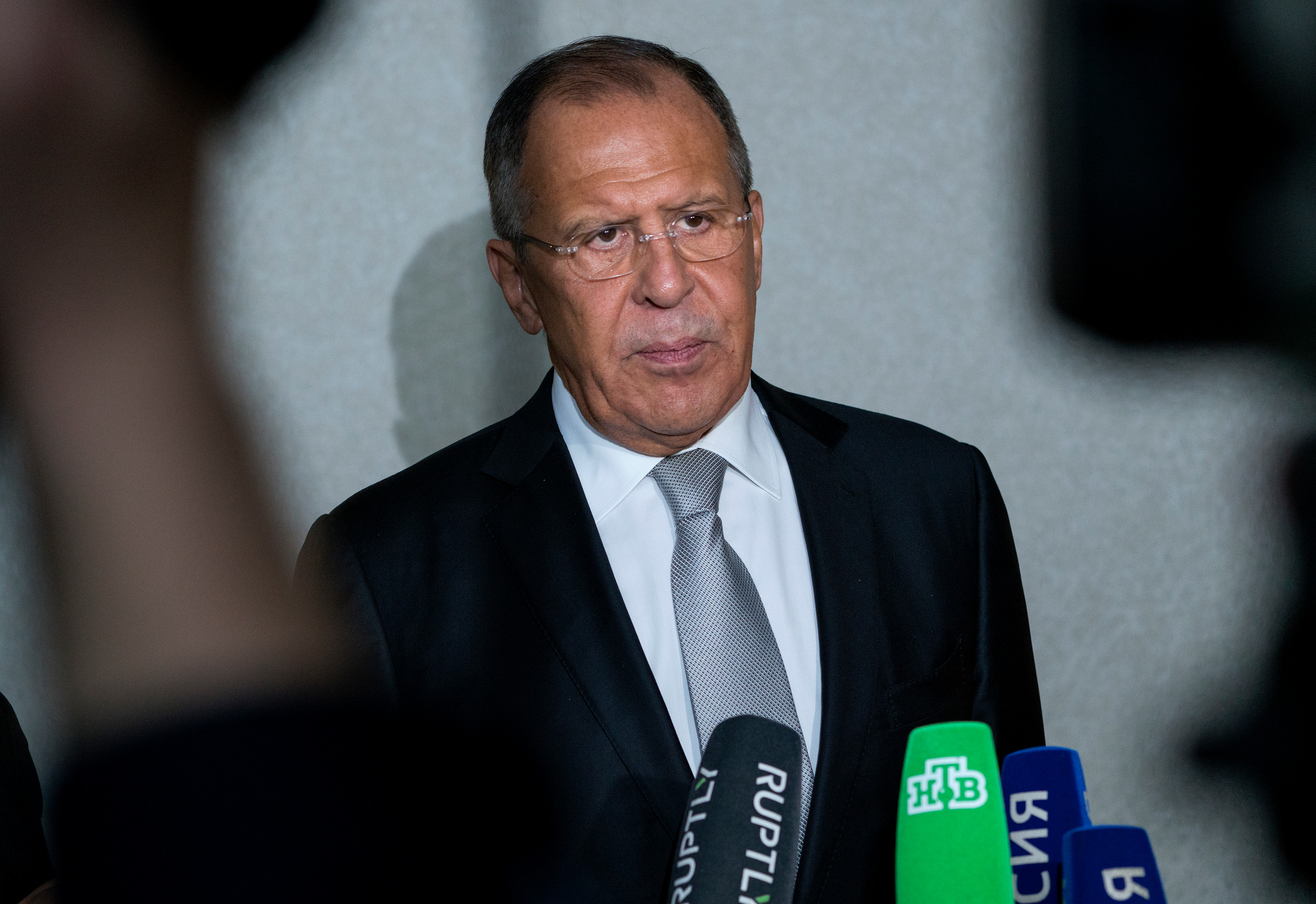 Lavrov Finds Opening In Trump Speech