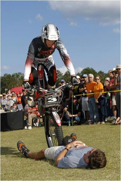 "On the Edge 2-Wheel Action Shows will feature daring motorcyclists performing ""gymnastics on wheels"" several times daily during the fair."