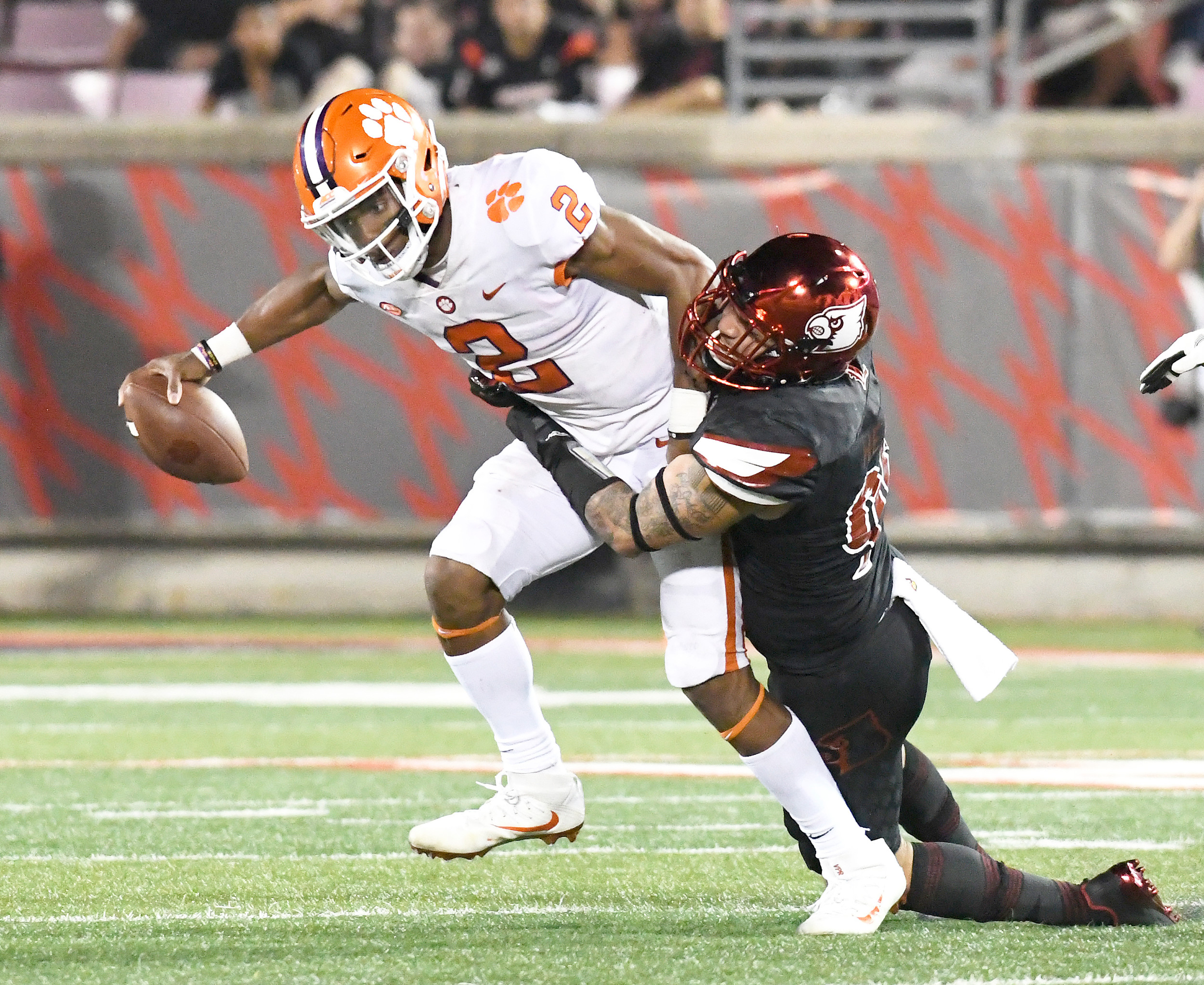 Clemson quarterback Kelly Bryant (2) has followed a similar path as his predecessor with the Tigers, Deshaun Watson. Bryant's play so far has him headed to where Watson went the past two years, the Heisman Trophy stage and the College Football Playoff.