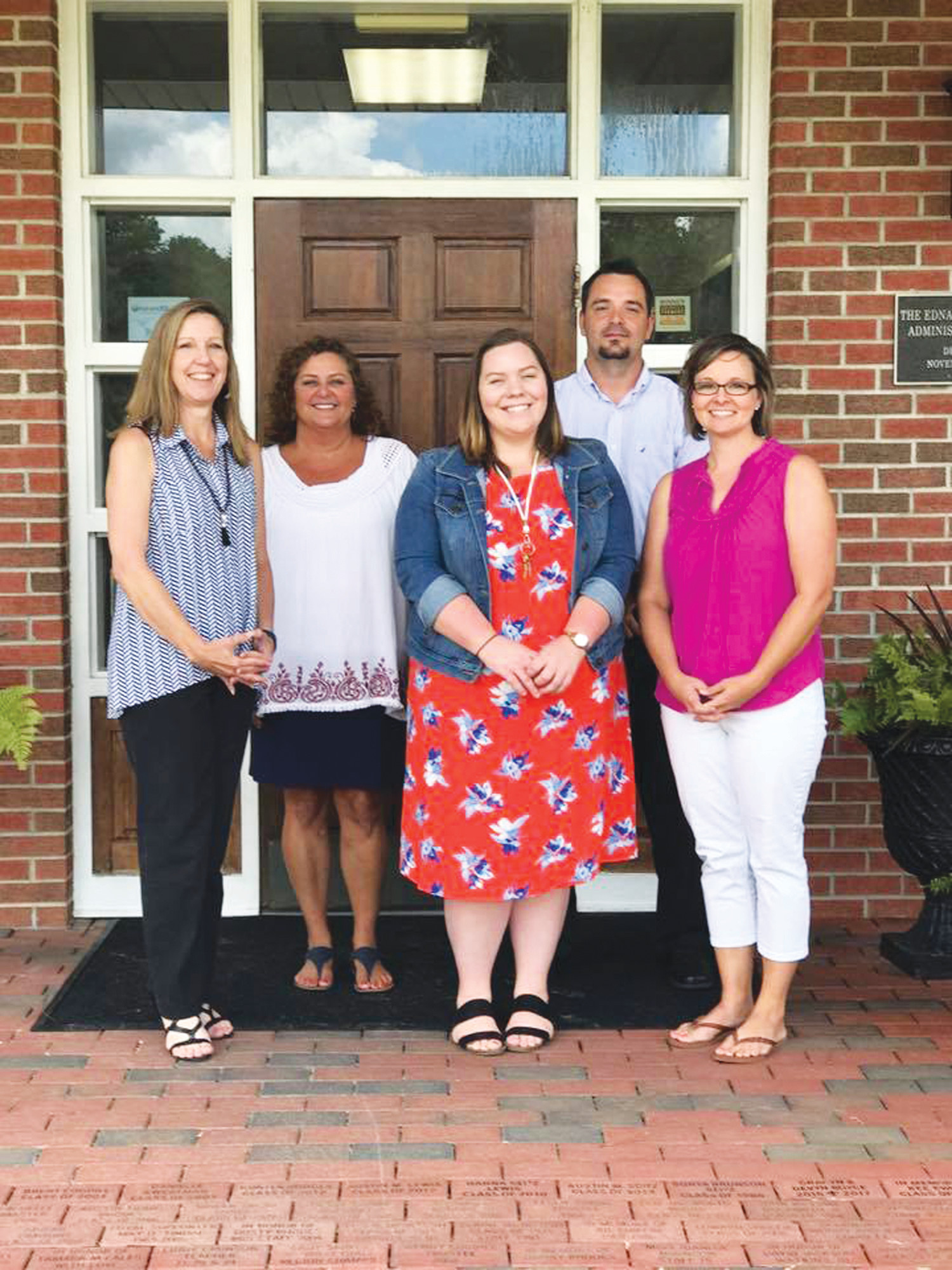 New staff welcomed  Clarendon Hall welcomes new staff members for the 2017-18 school year: Karen Schwendinger, high school science; Melissa Moorer, high school English; Kelsey Steele, sixth and seventh grade; Anthony Reitenour, pre-calculus/coach; and Alison Ridgeway, second grade.