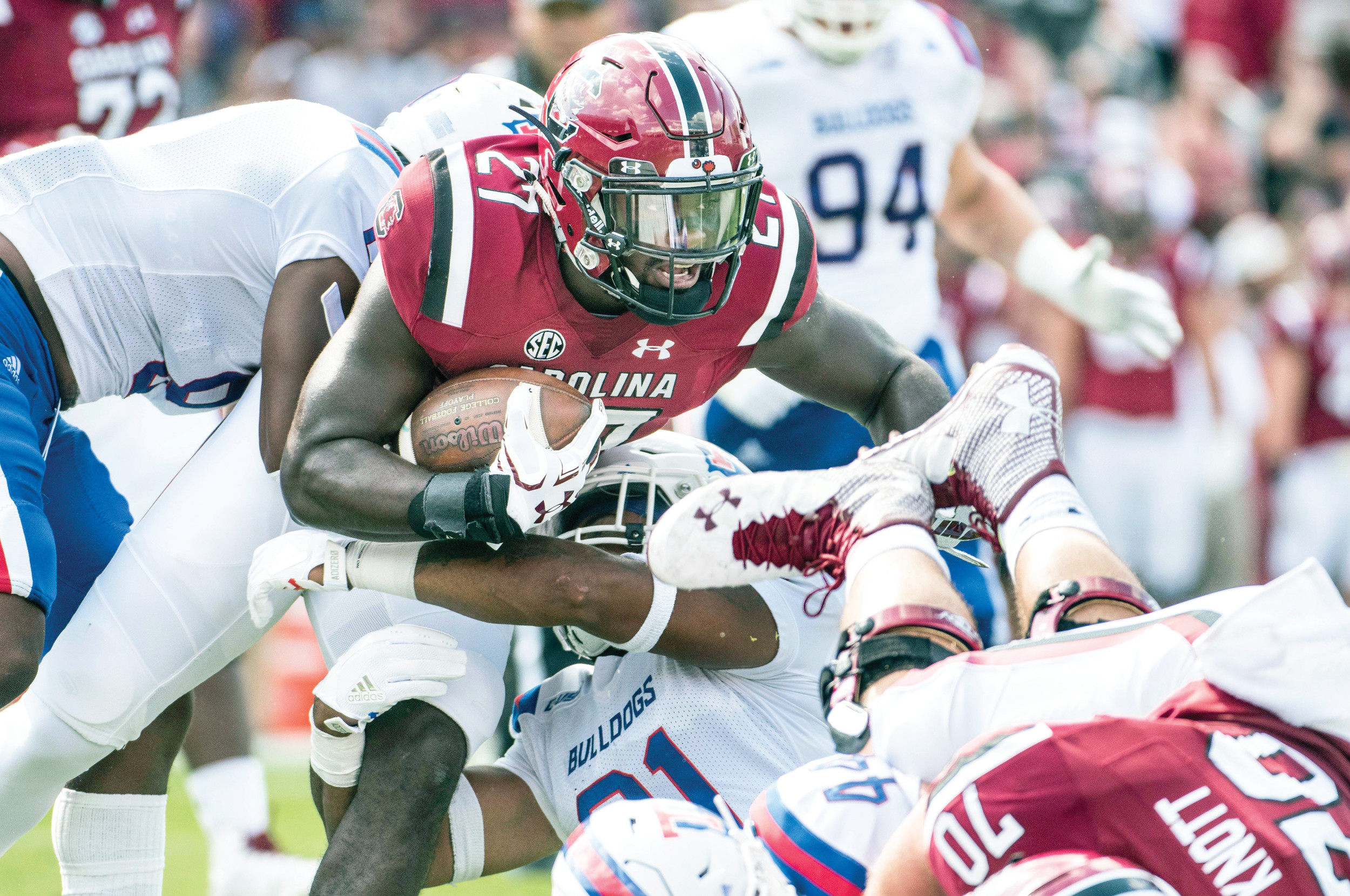 South Carolina's late field goal tops Louisiana Tech, 17-16