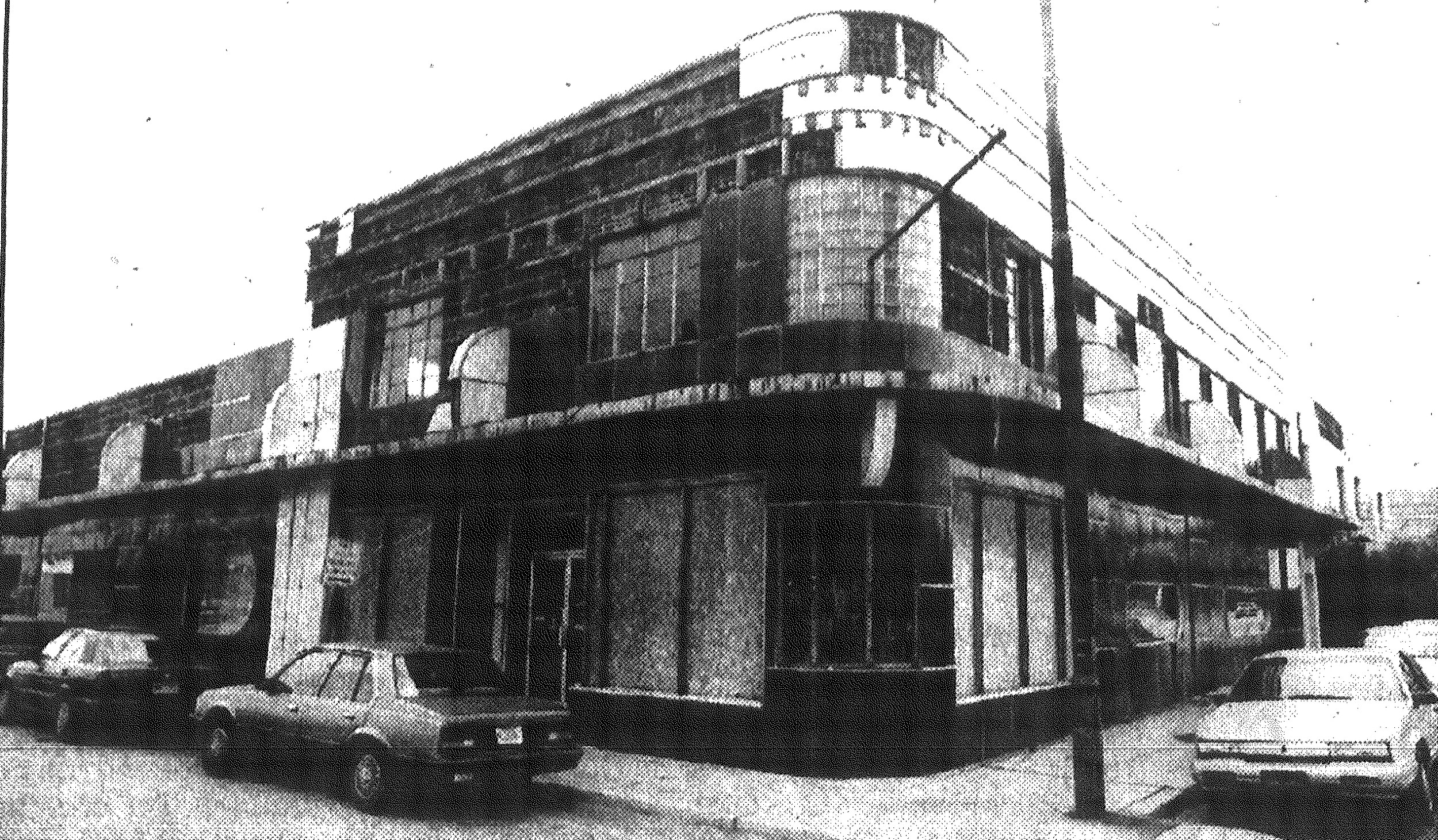 1992 -- The Shelor Building, distinguished by its art deco architecture, stood for years near the Sumter Laundry and Cleaners on South Sumter Street.