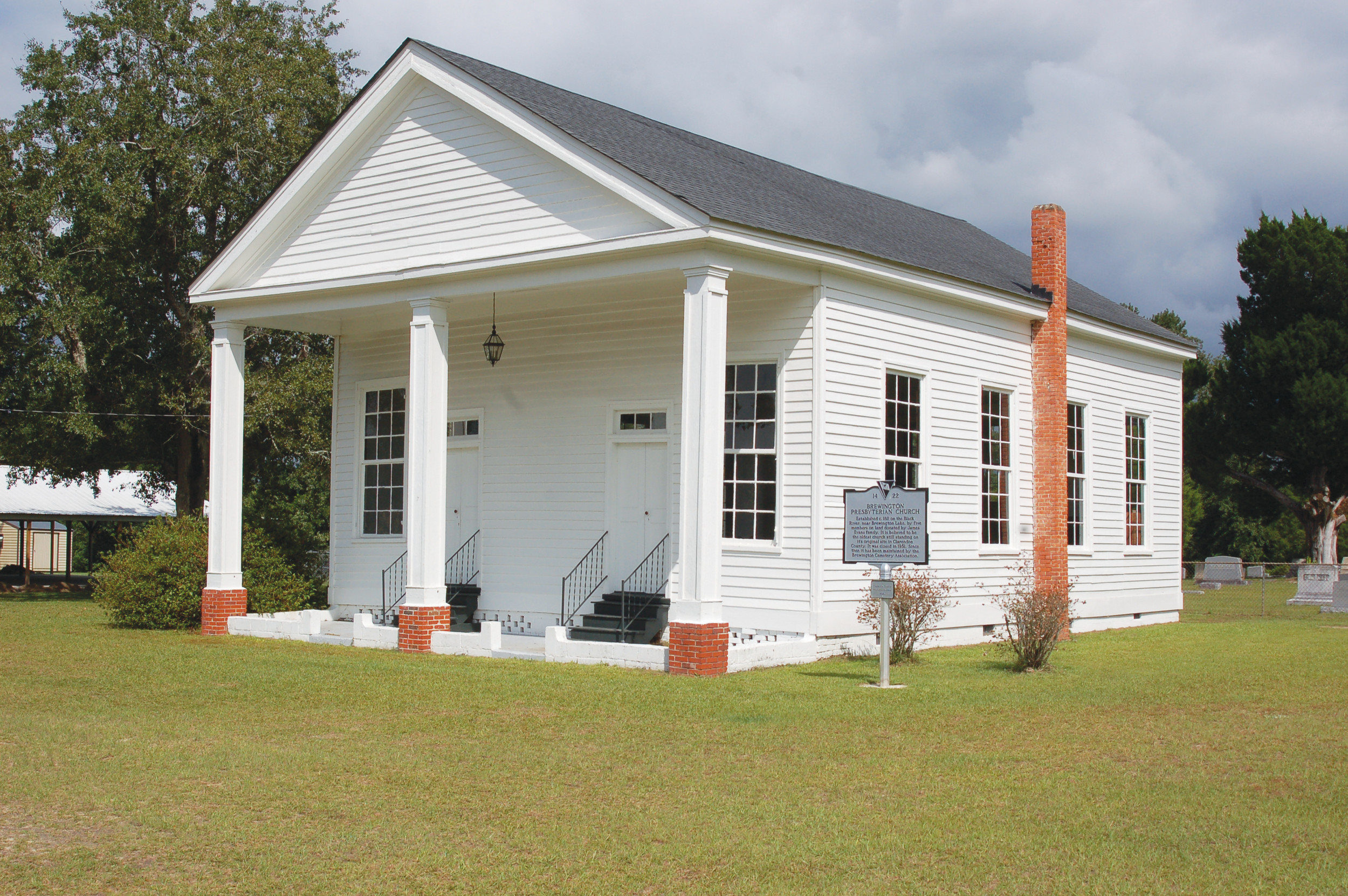 SUMTER ITEM FILE PHOTOBrewington Presbyterian Church has stood on its original site for 206 years.