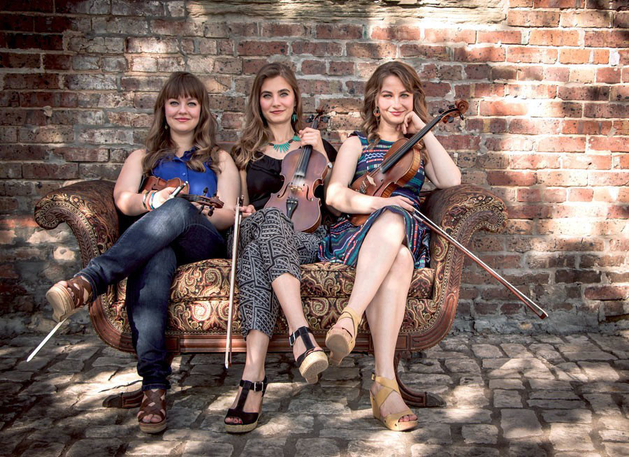 The Quebe Sisters will bring their fiddles, three-part harmonies and Western Swing to the Main Stage Series at the Sumter Opera House on Friday.