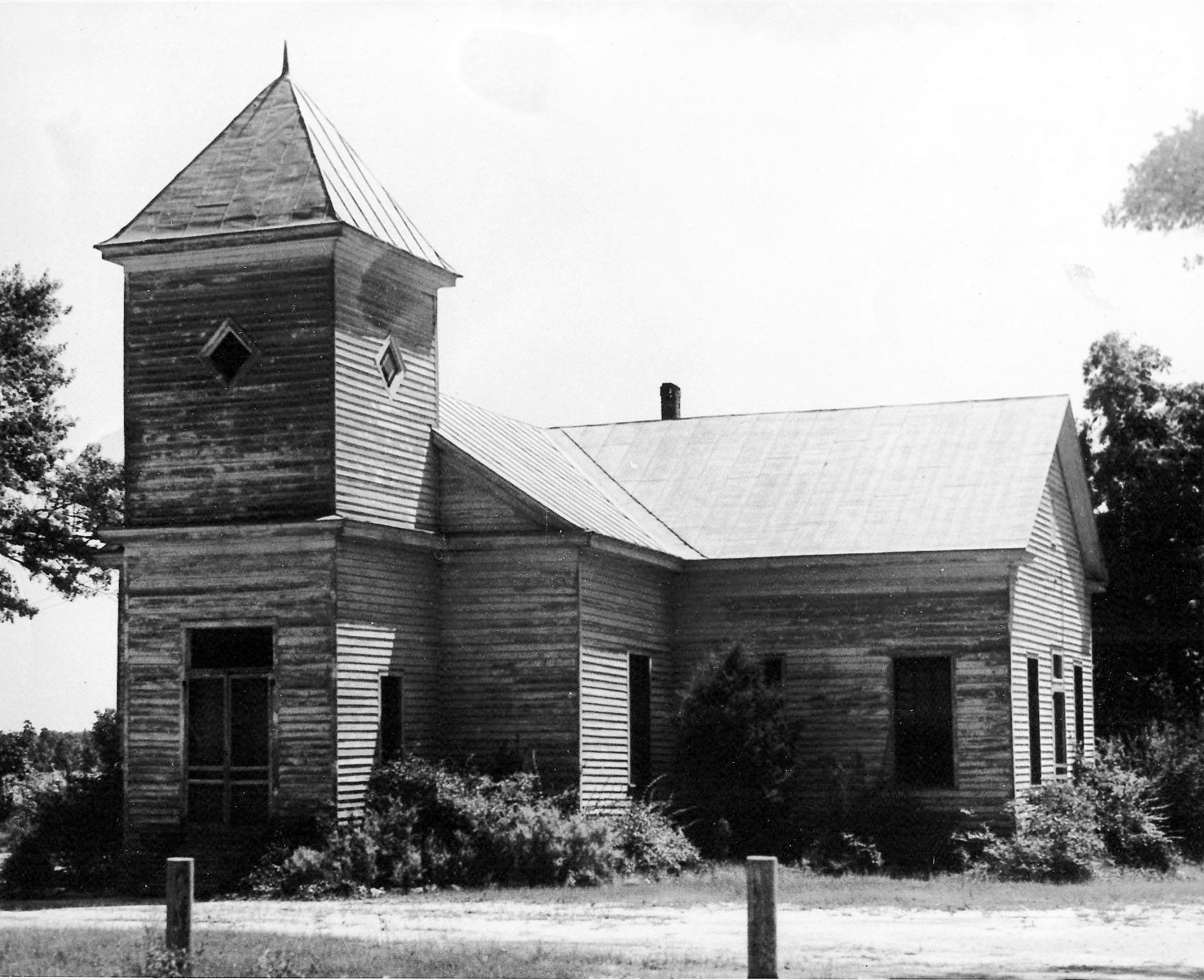 Graham Church, named after the Rev. Noah Graham, was located near Brogdon Station on U.S. 521.