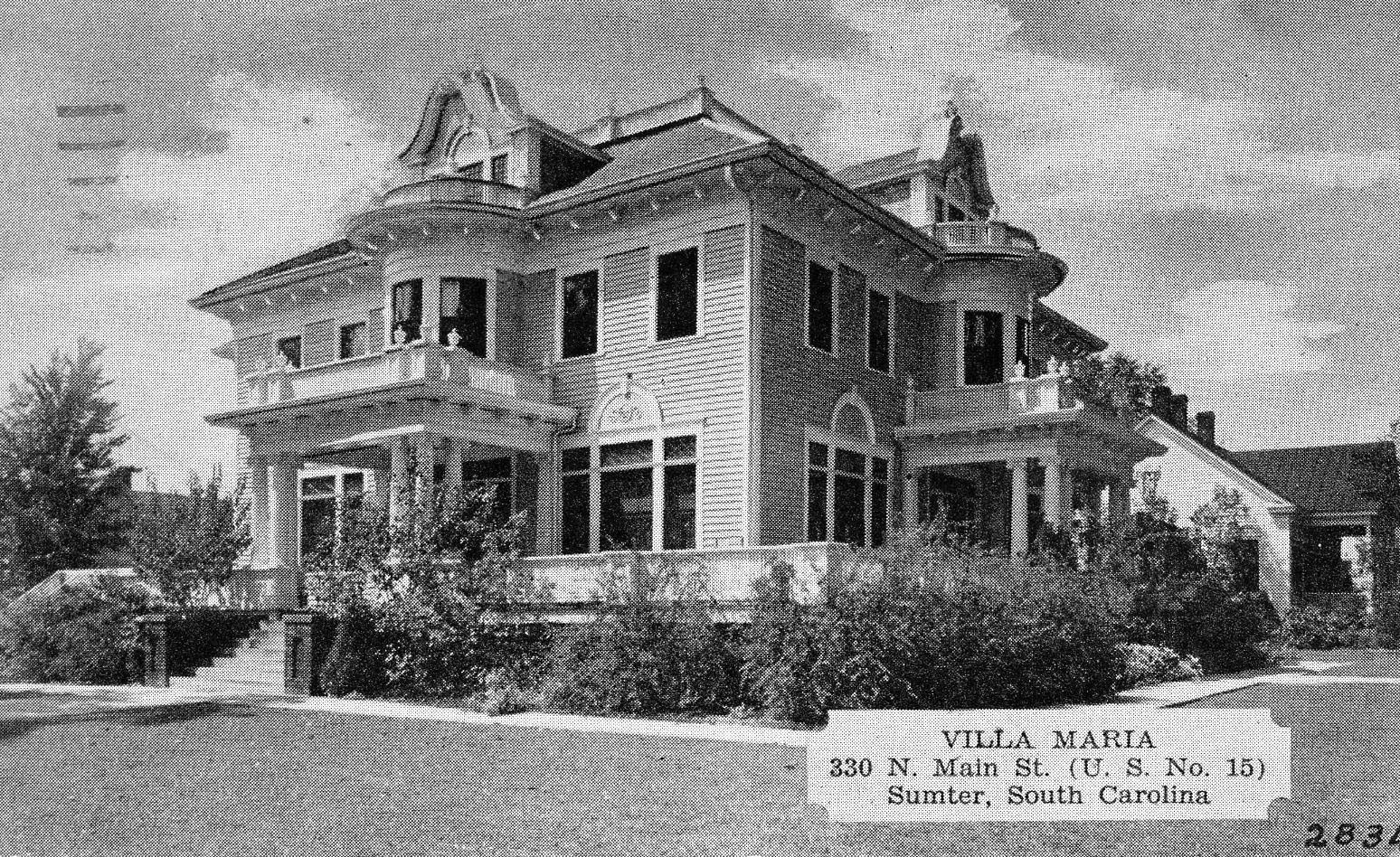Villa Maria was located on North Main Street. It once served as a tourist lodge.