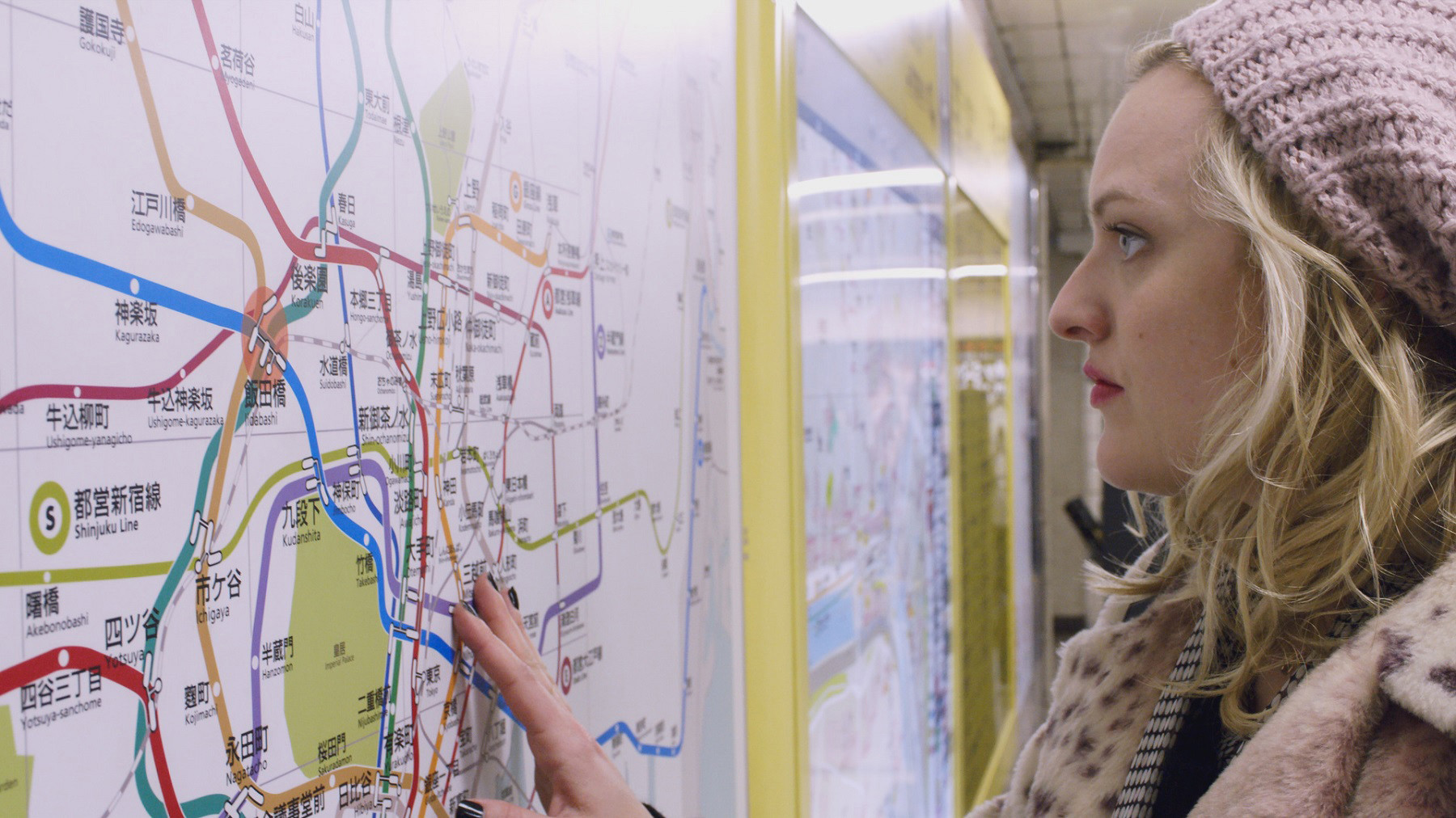 "Elizabeth Moss stars as Claire in the short film ""Tokyo Project,"" debuting at 10 p.m. Saturday on HBO."
