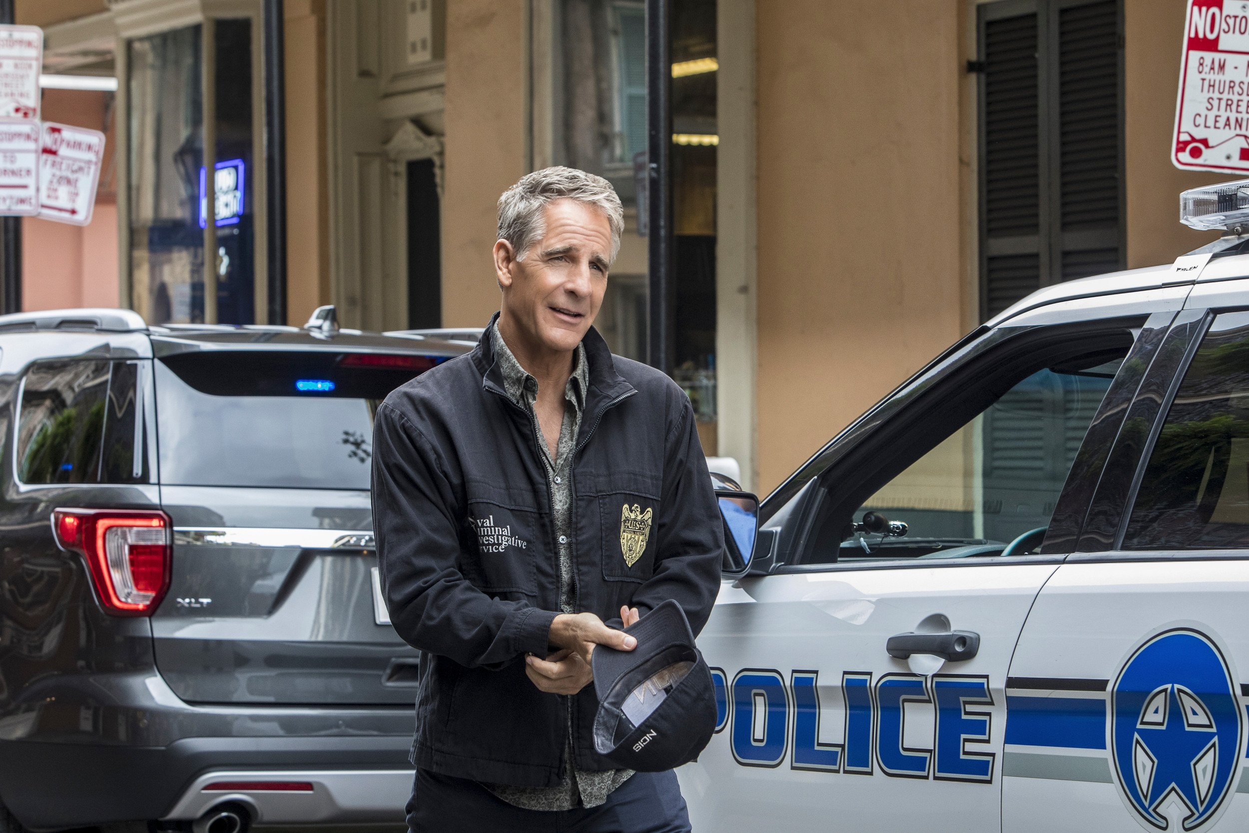 "Special Agent Dwayne Pride (Scott Bakula) and his team investigate the copycat murder of an unsolved case from 150 years ago that spawned a legendary New Orleans ghost story in the ""Dead Man Calling"" episode of ""NCIS: New Orleans,"" airing at 10 p.m. today on CBS."