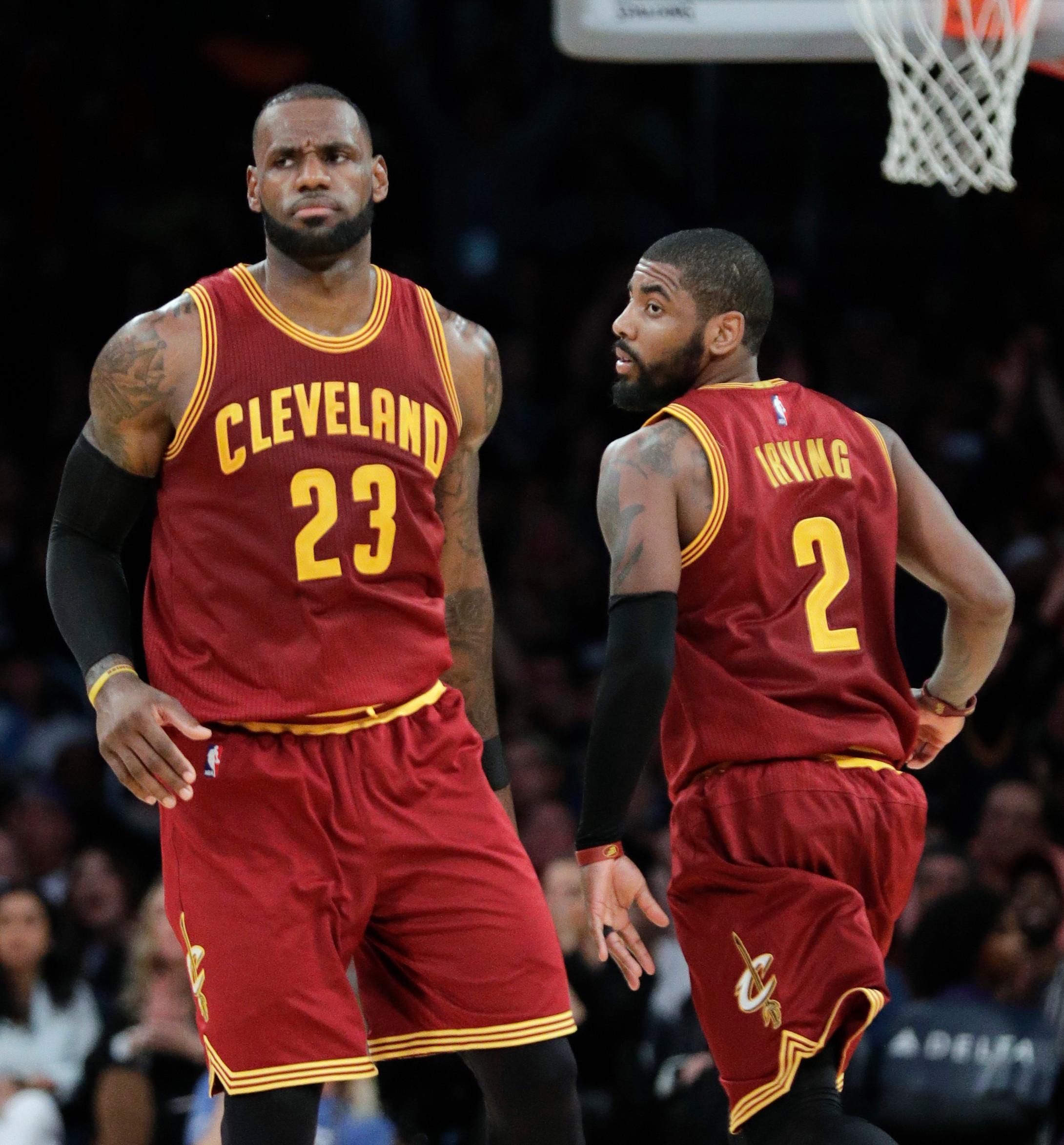 9d11ccfbe07 LeBron vs. Kyrie latest entry in NBA rivalries