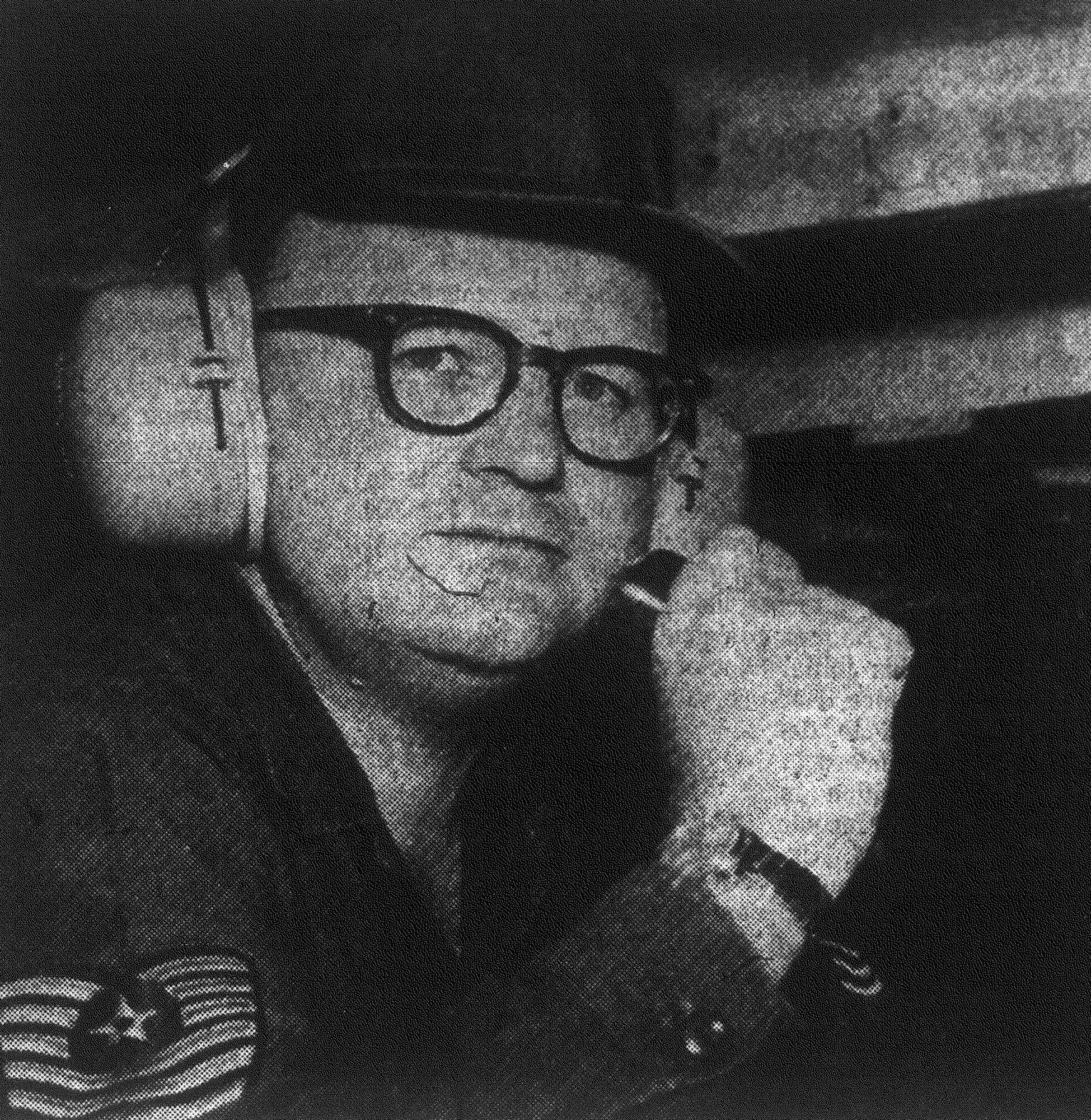 "1968 - Master Sgt. Bobby G. McGee, NCOIC of the Small Arms Marksmanship Training Unit, was named Shaw's ""Outstanding Airman of the Year."" Here he operates the control tower at the small arms range."