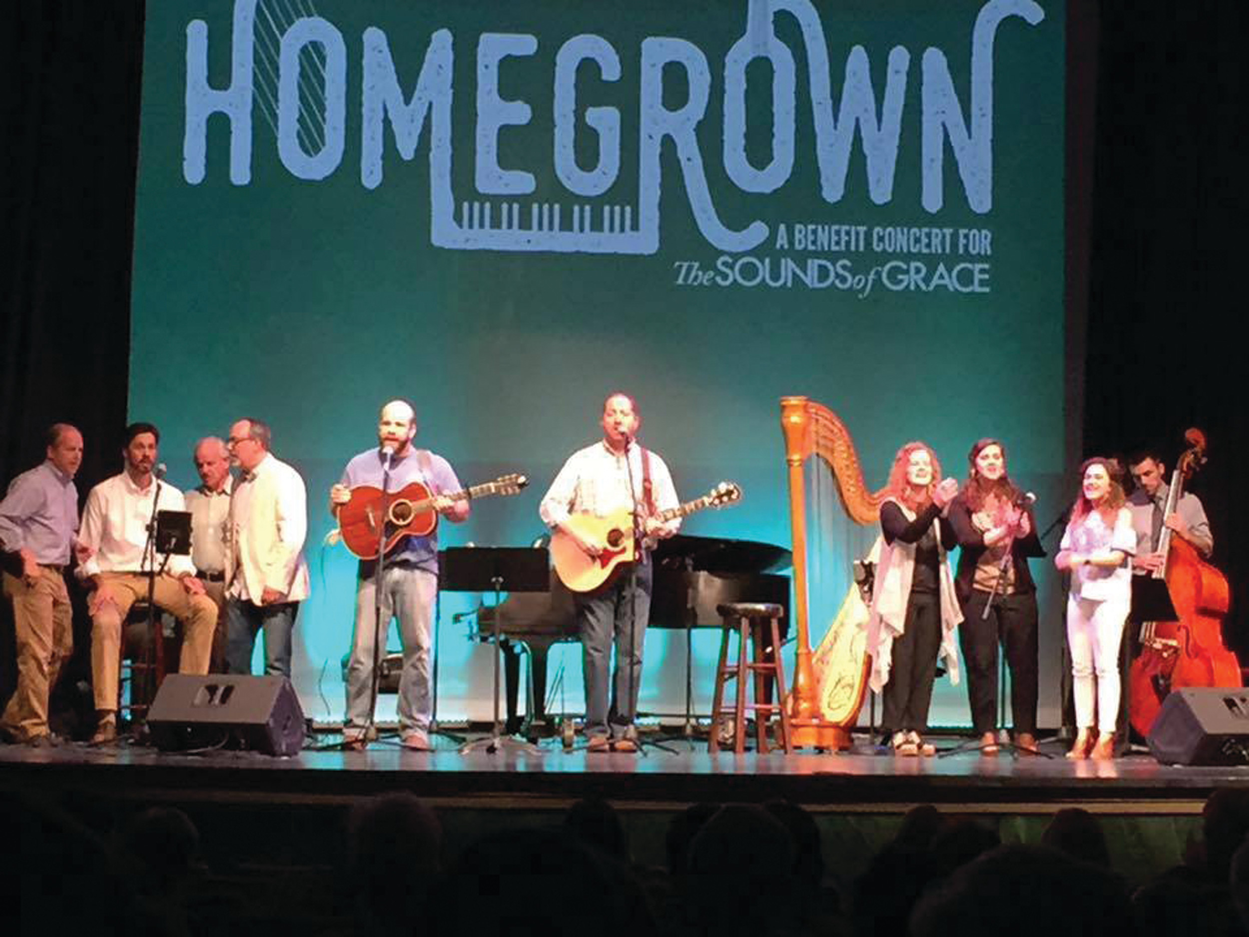 Performers take the stage for a previous Homegrown concert. This year's concert is slated for 6 p.m. on Nov. 2 at the City Centre.