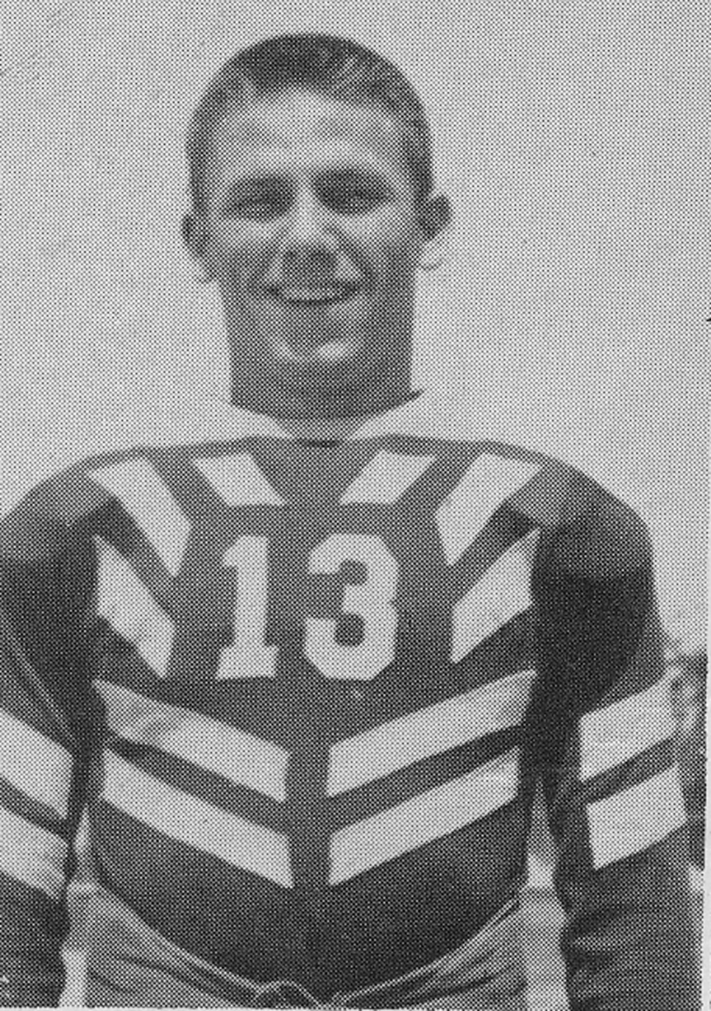 Wilson, who was captain of the football team at Sumter High during his senior year, is seen in his 1937 yearbook photo.
