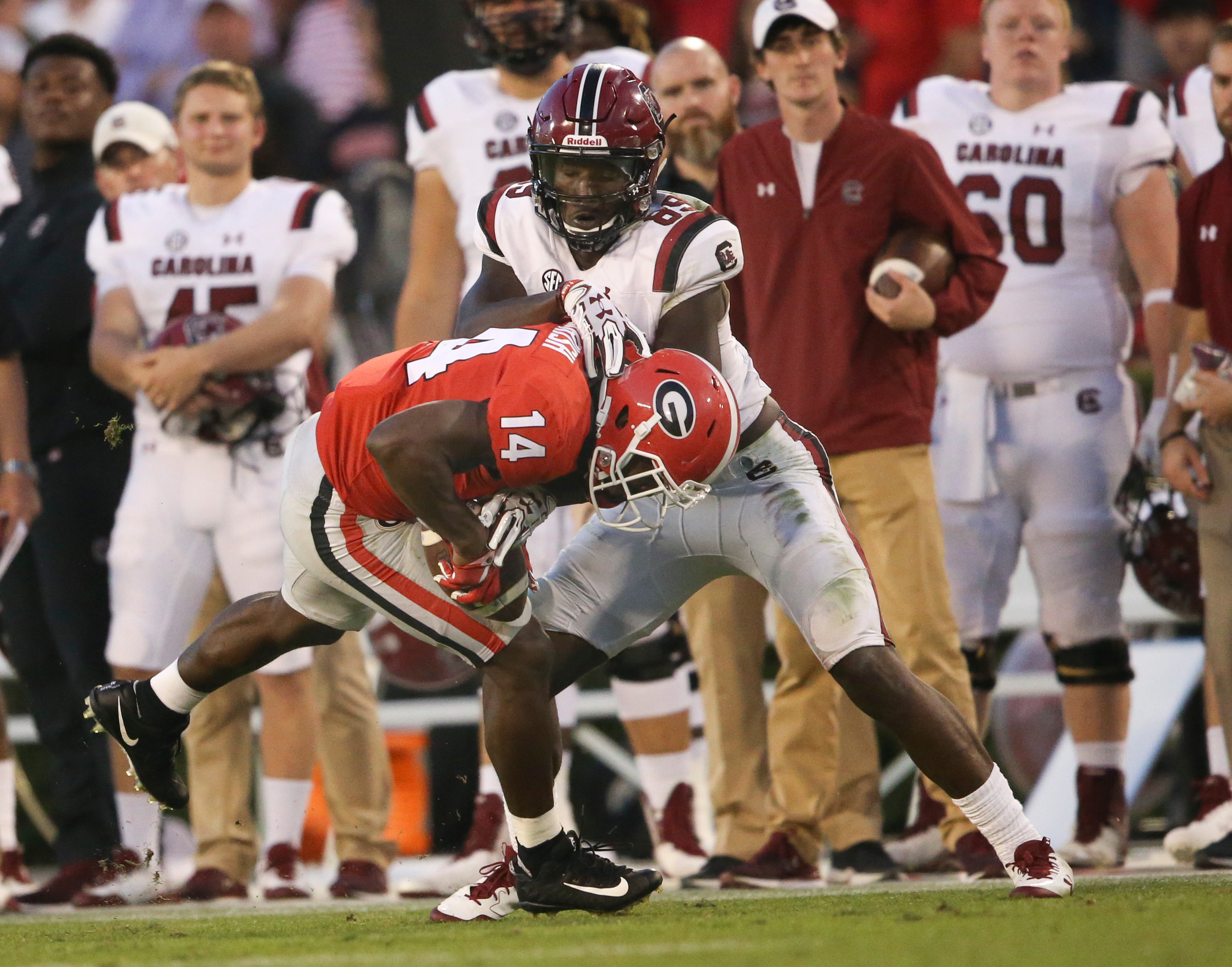 South Carolina's Deebo Samuel ruled out for season after setback