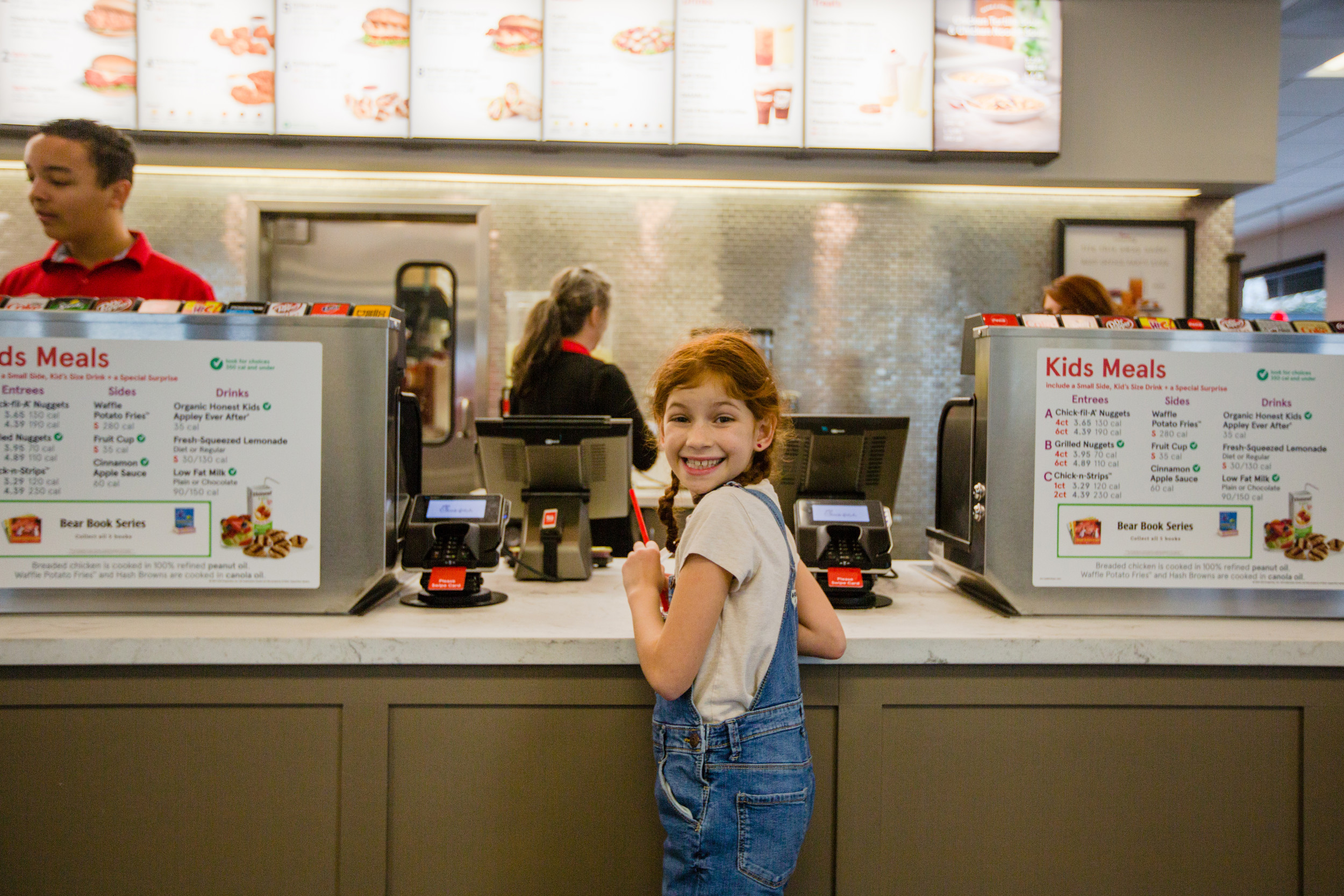 There were a lot of smiling faces Wednesday when Sumter's freestanding Chick-fil-A reopened for business.