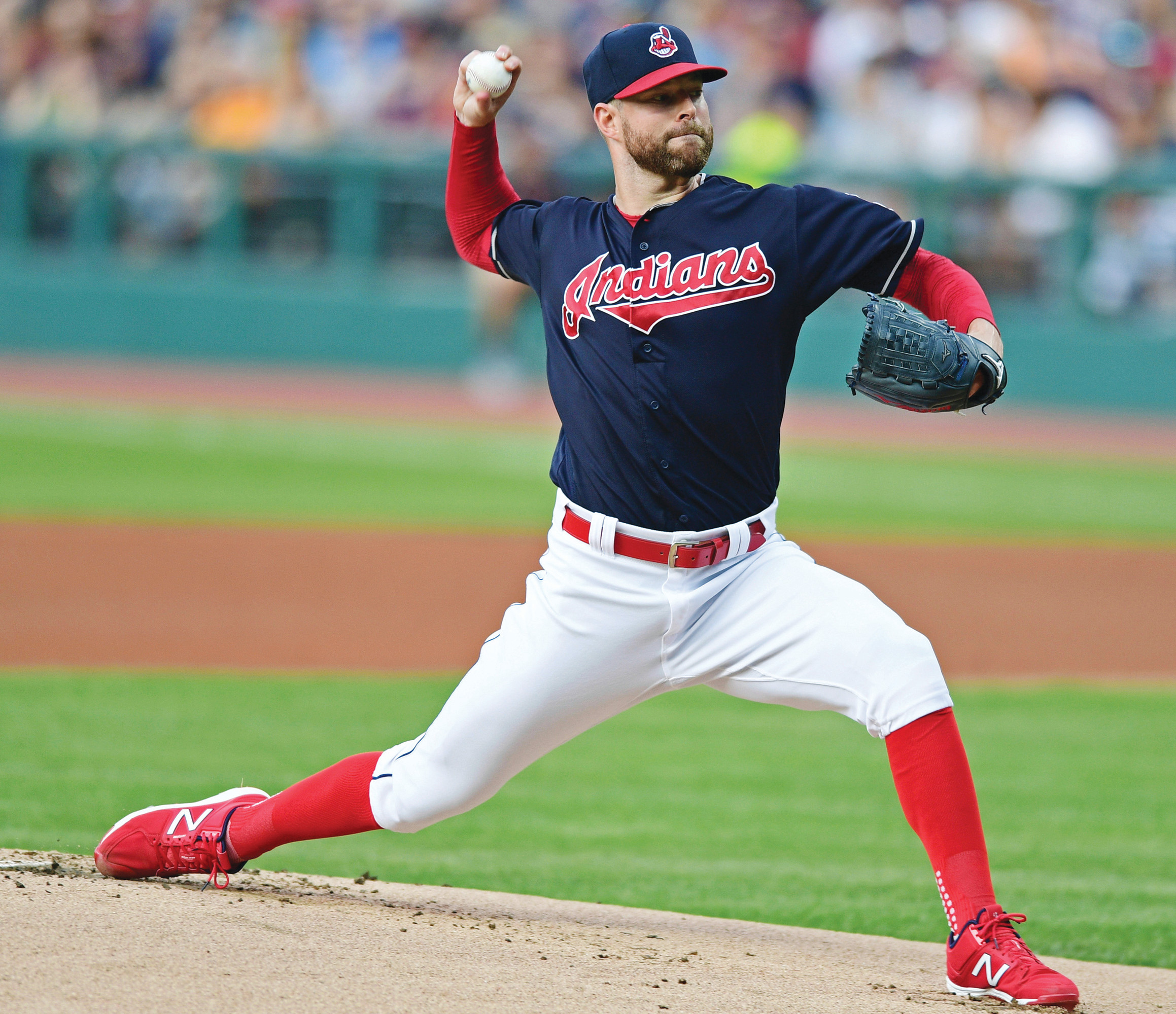 Cleveland pitching ace Corey Kluber won his second American League Cy Young Award on Wednesday.